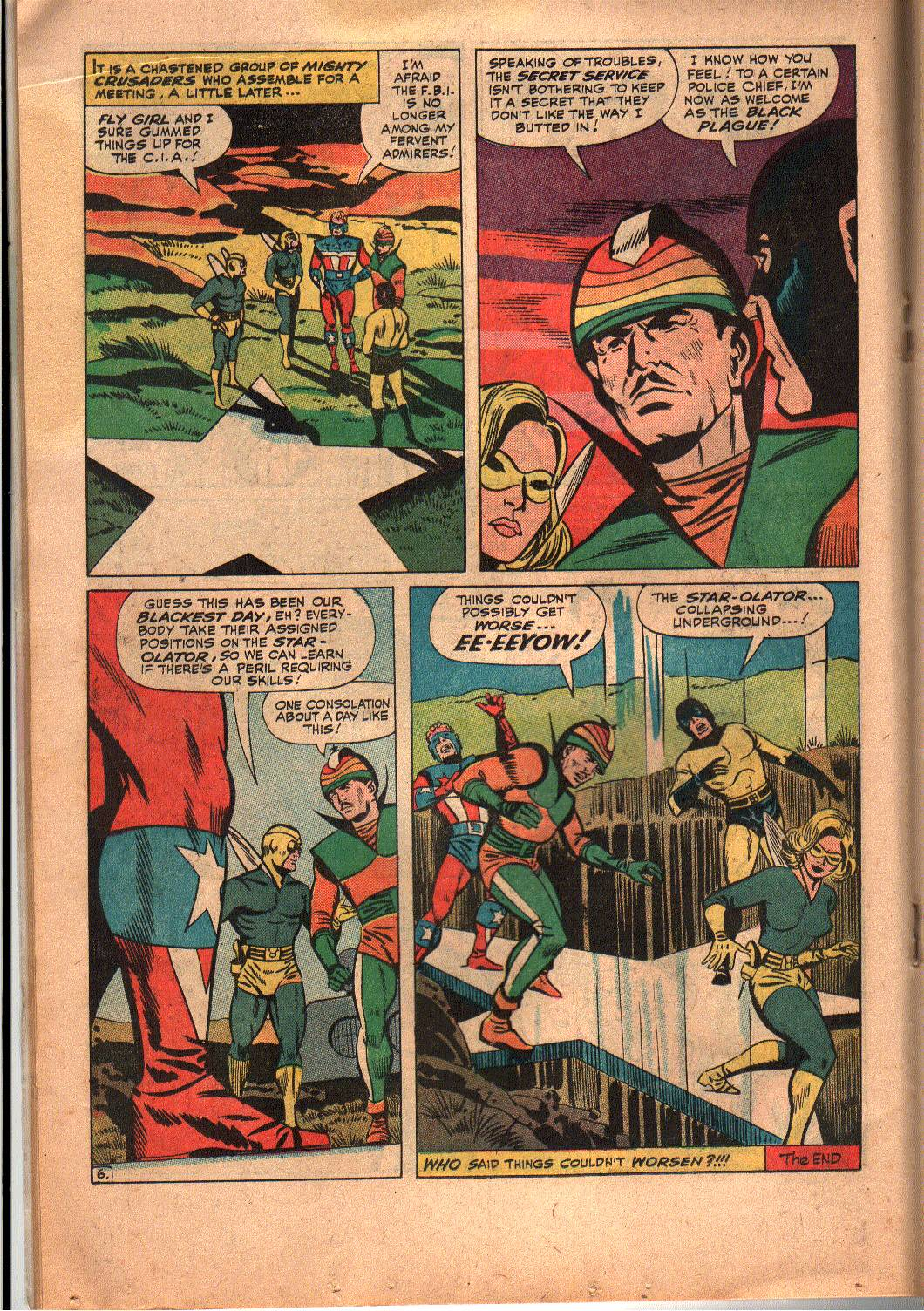 The Mighty Crusaders (1965) Issue #6 #6 - English 15