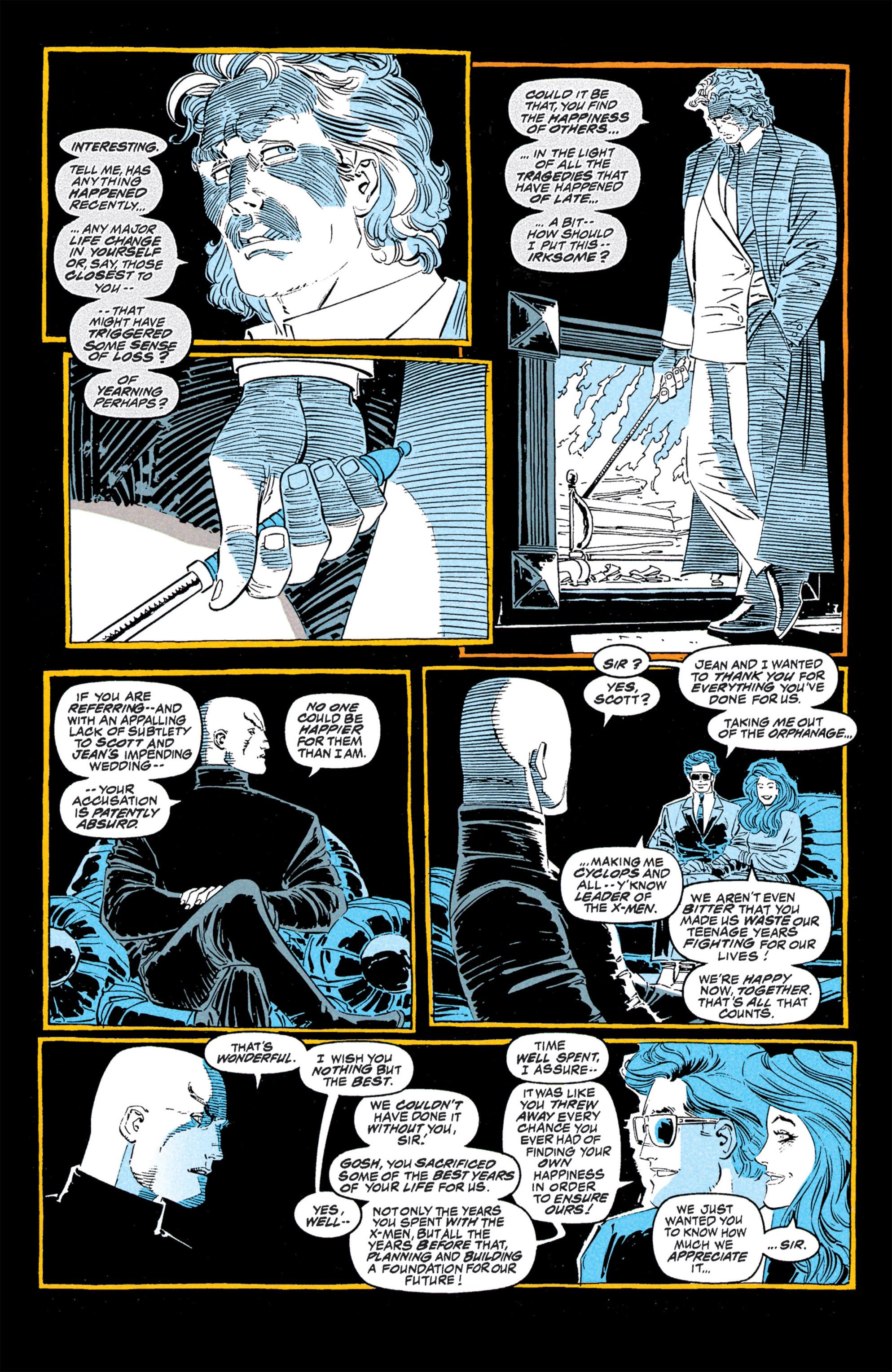 Read online Uncanny X-Men (1963) comic -  Issue #309 - 6