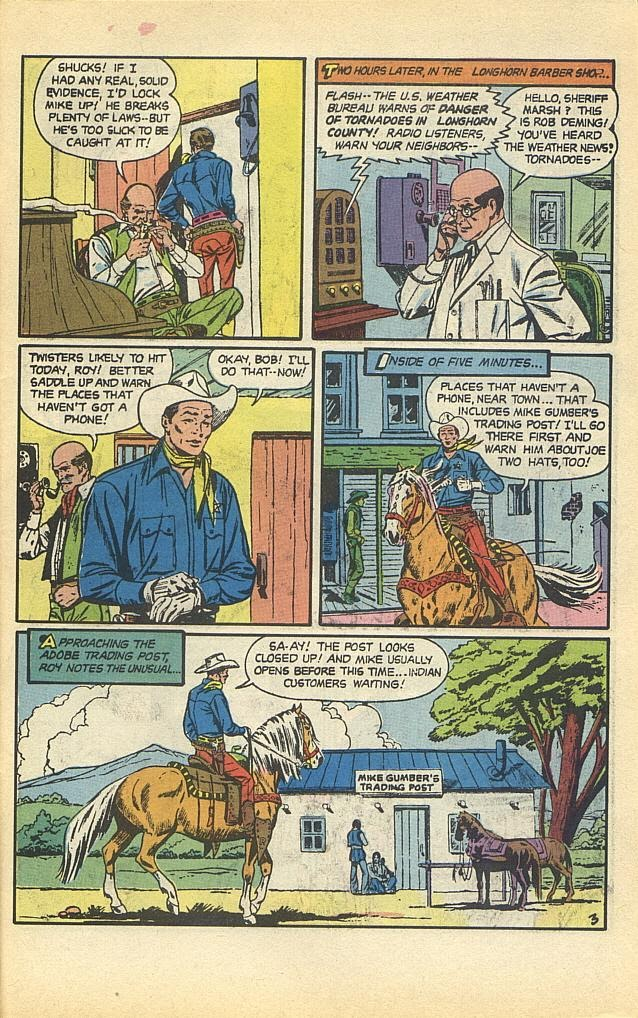 Read online Roy Rogers comic -  Issue #1 - 36