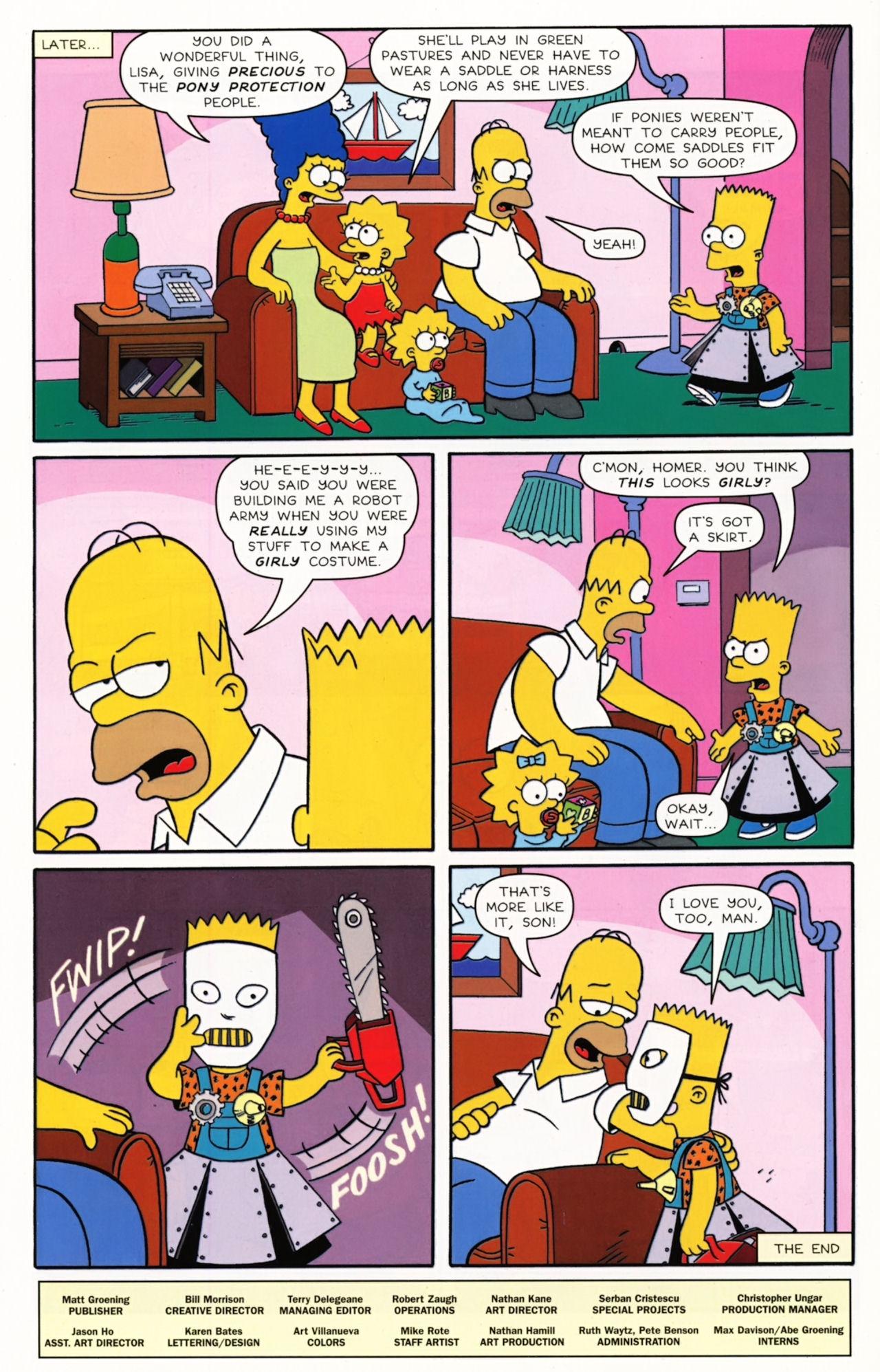 Read online Simpsons Comics Presents Bart Simpson comic -  Issue #55 - 28