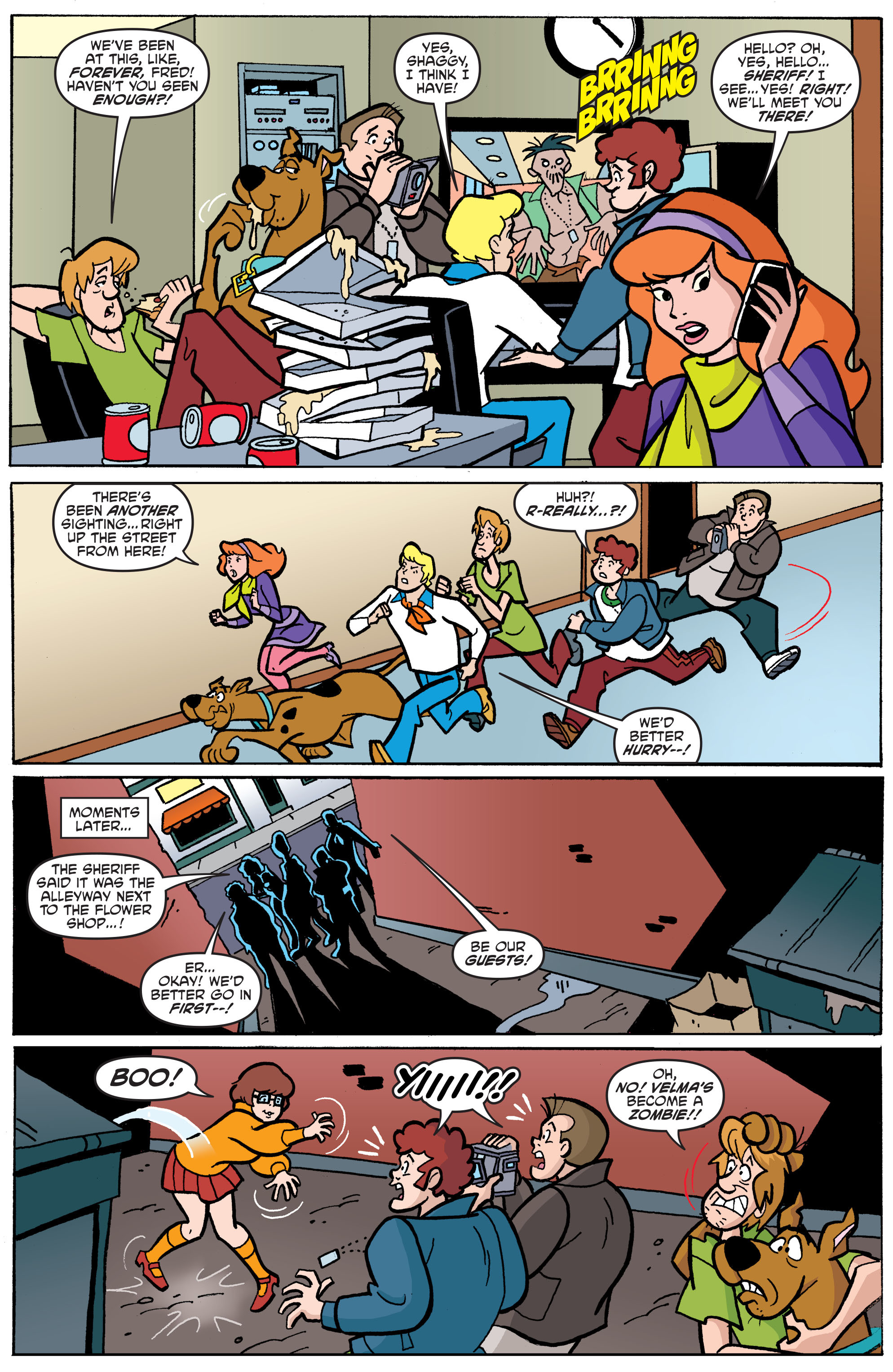 Read online Scooby-Doo: Where Are You? comic -  Issue #65 - 22