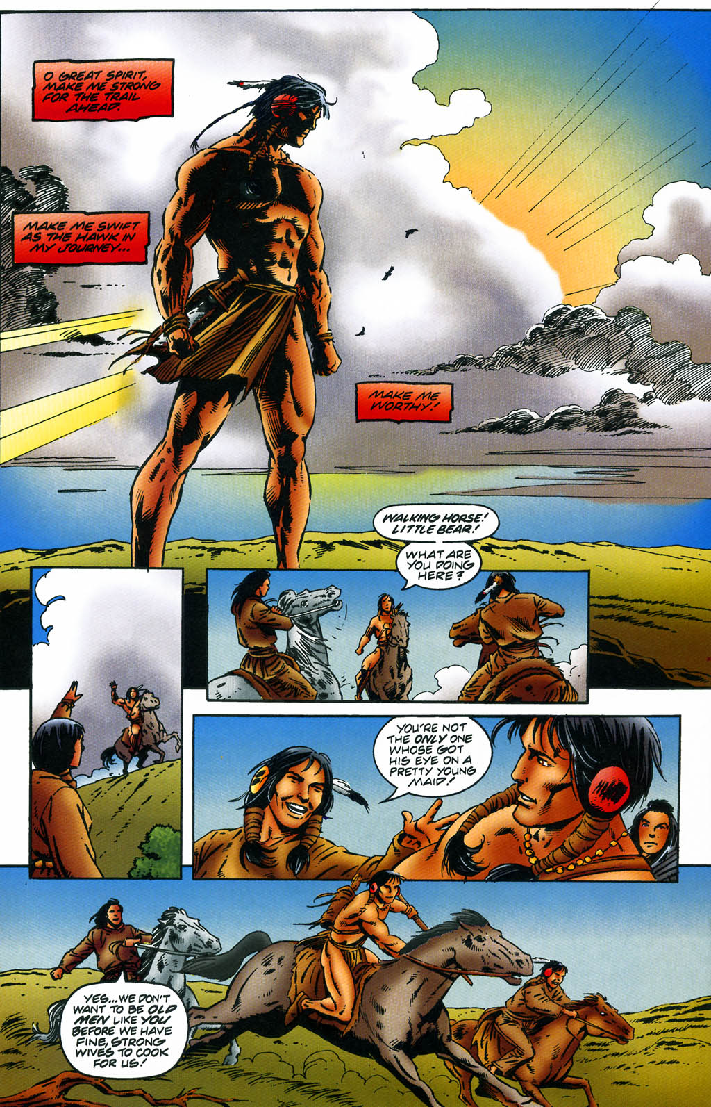 Read online Turok, Dinosaur Hunter (1993) comic -  Issue #43 - 17