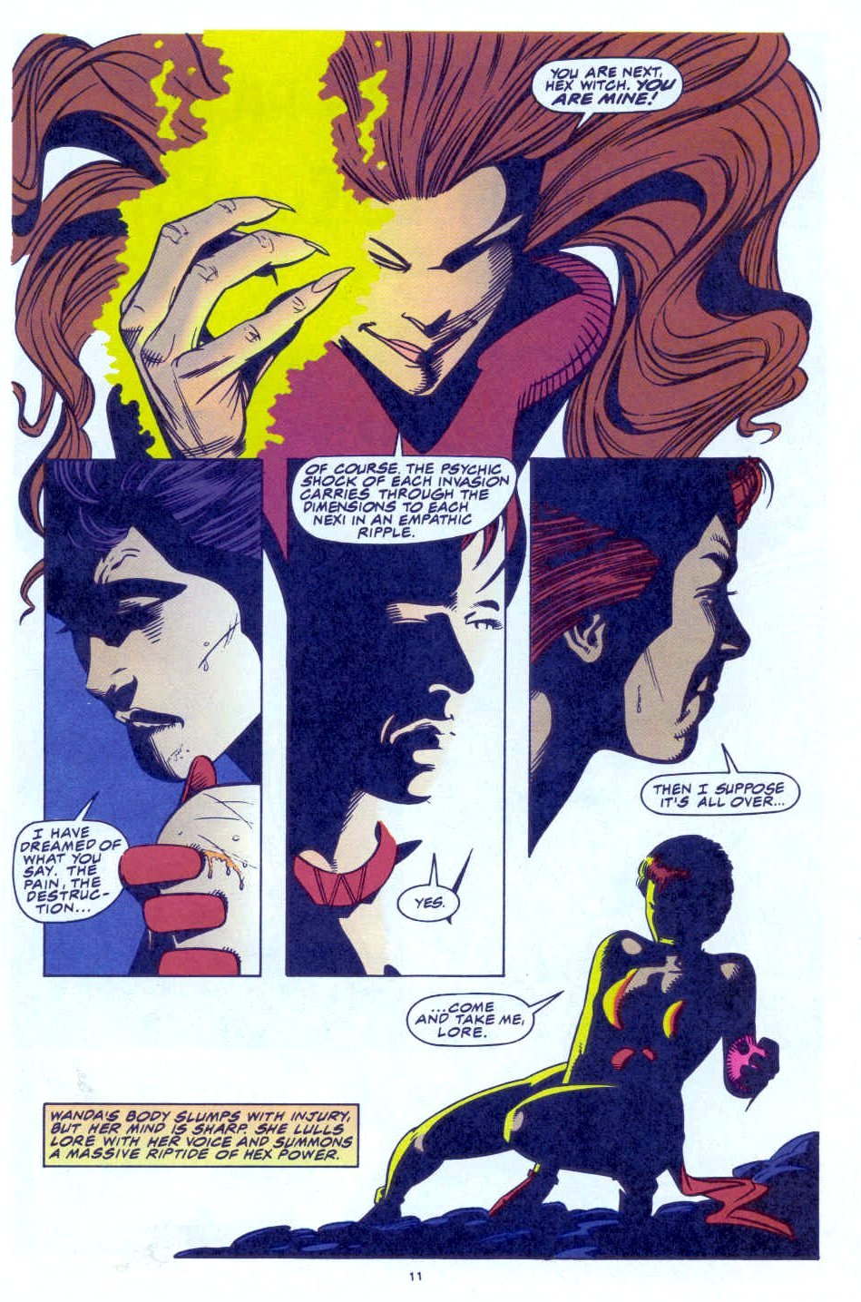 Scarlet Witch (1994) Issue #4 #4 - English 10