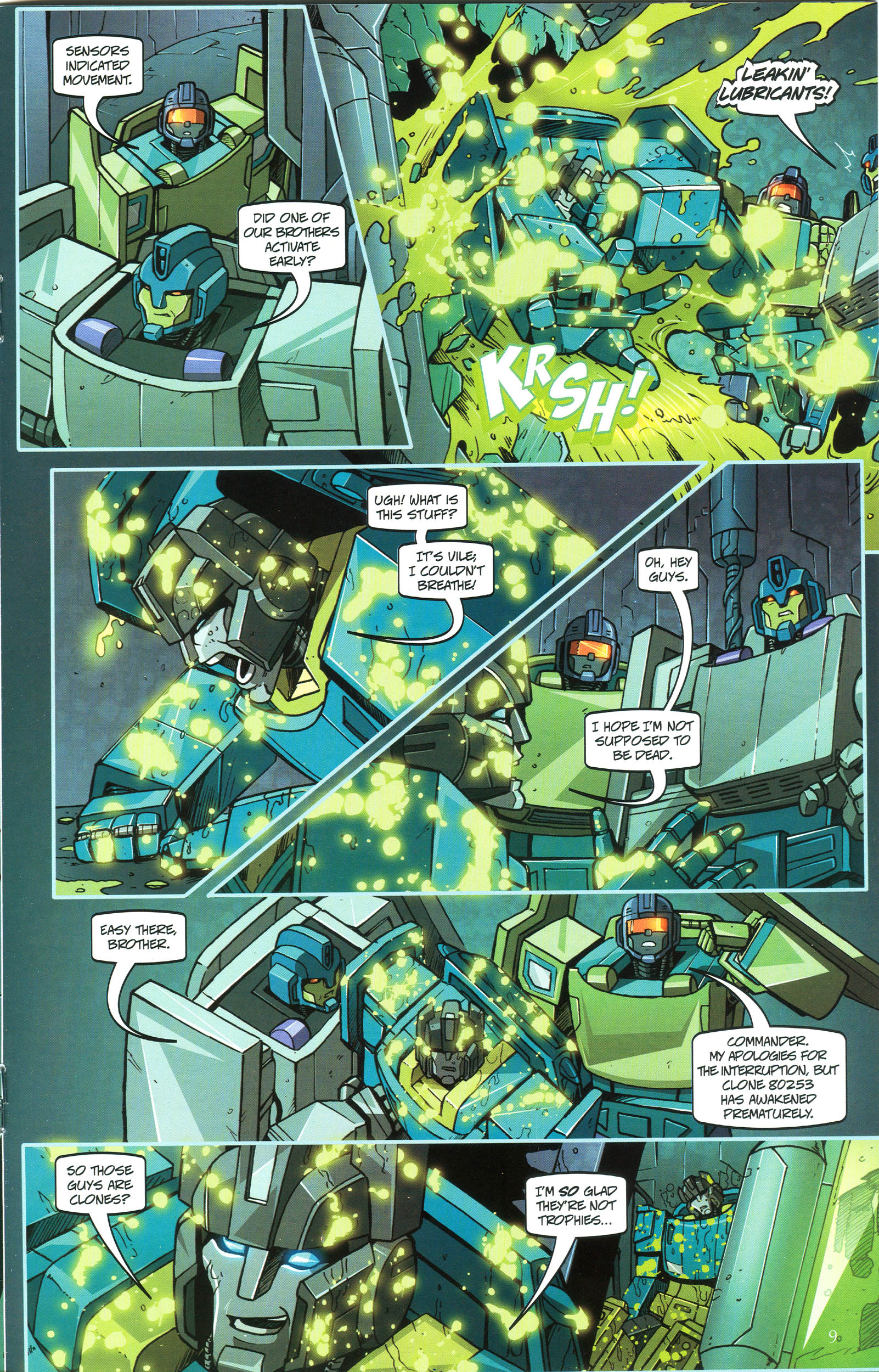 Read online Transformers: Collectors' Club comic -  Issue #47 - 9
