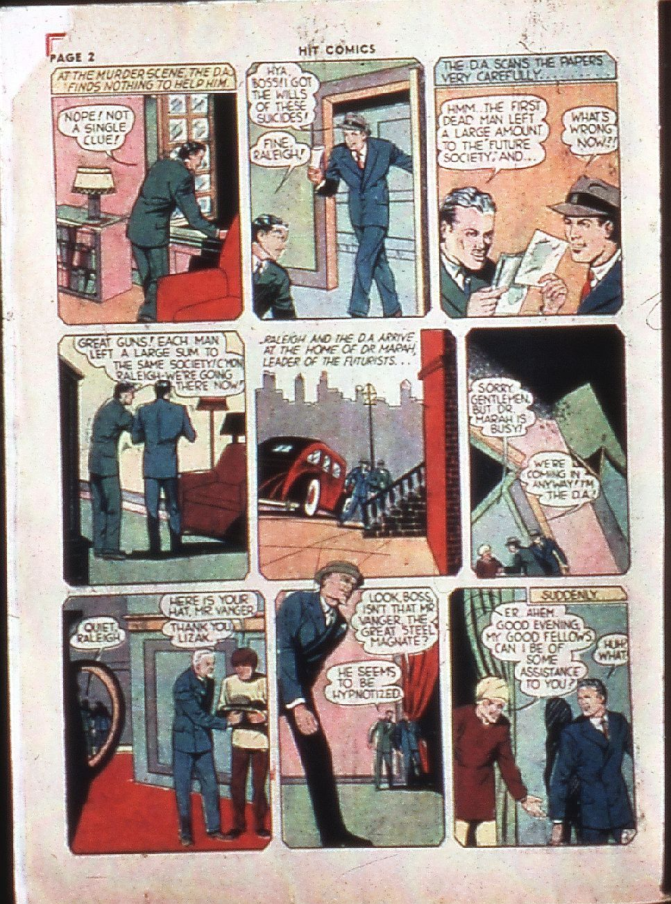 Read online Hit Comics comic -  Issue #4 - 4