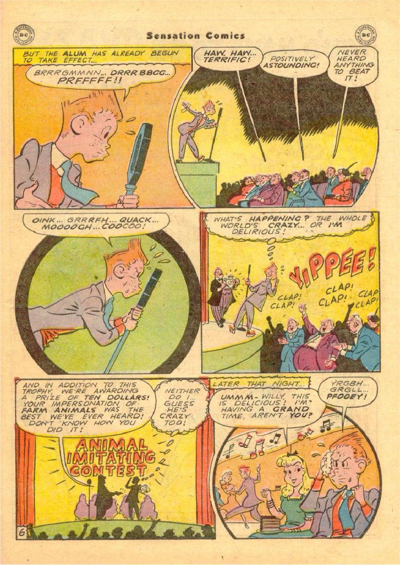 Read online Sensation (Mystery) Comics comic -  Issue #70 - 38