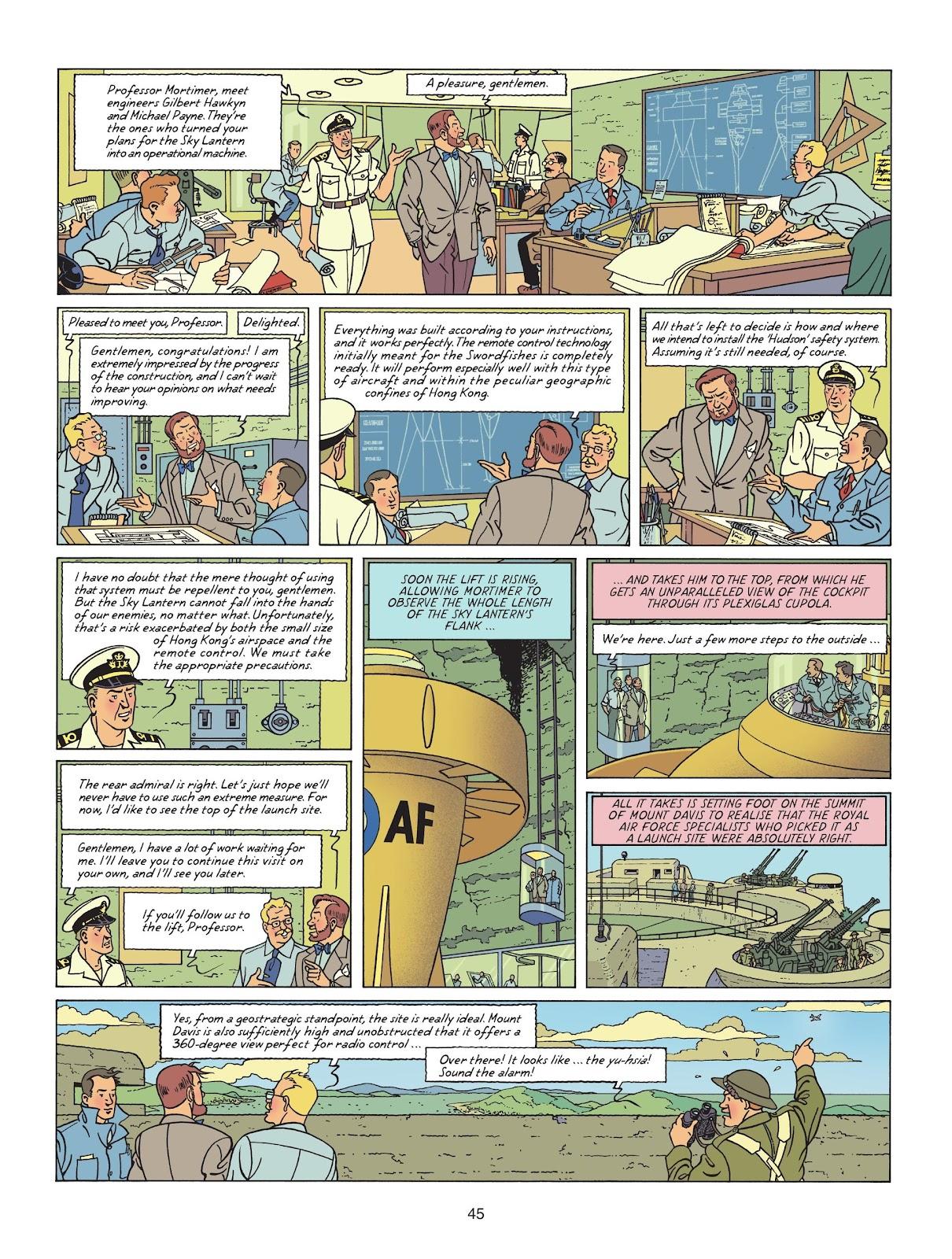 Read online Blake & Mortimer comic -  Issue #25 - 47