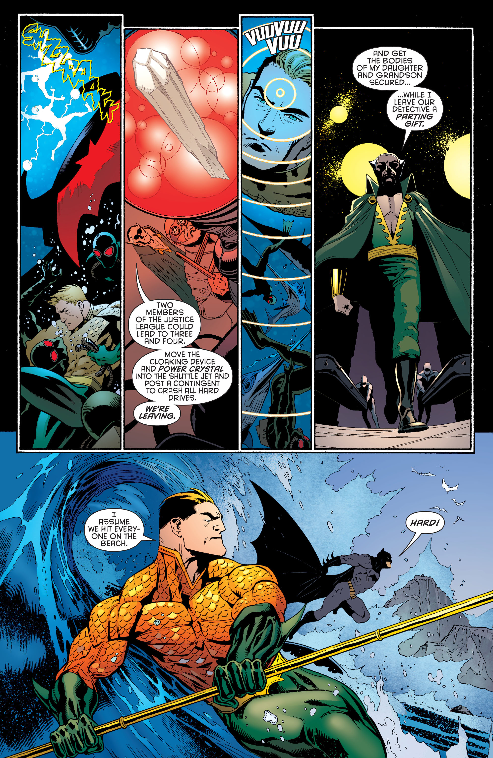 Read online Batman and Robin (2011) comic -  Issue #29 - Batman and Aquaman - 6