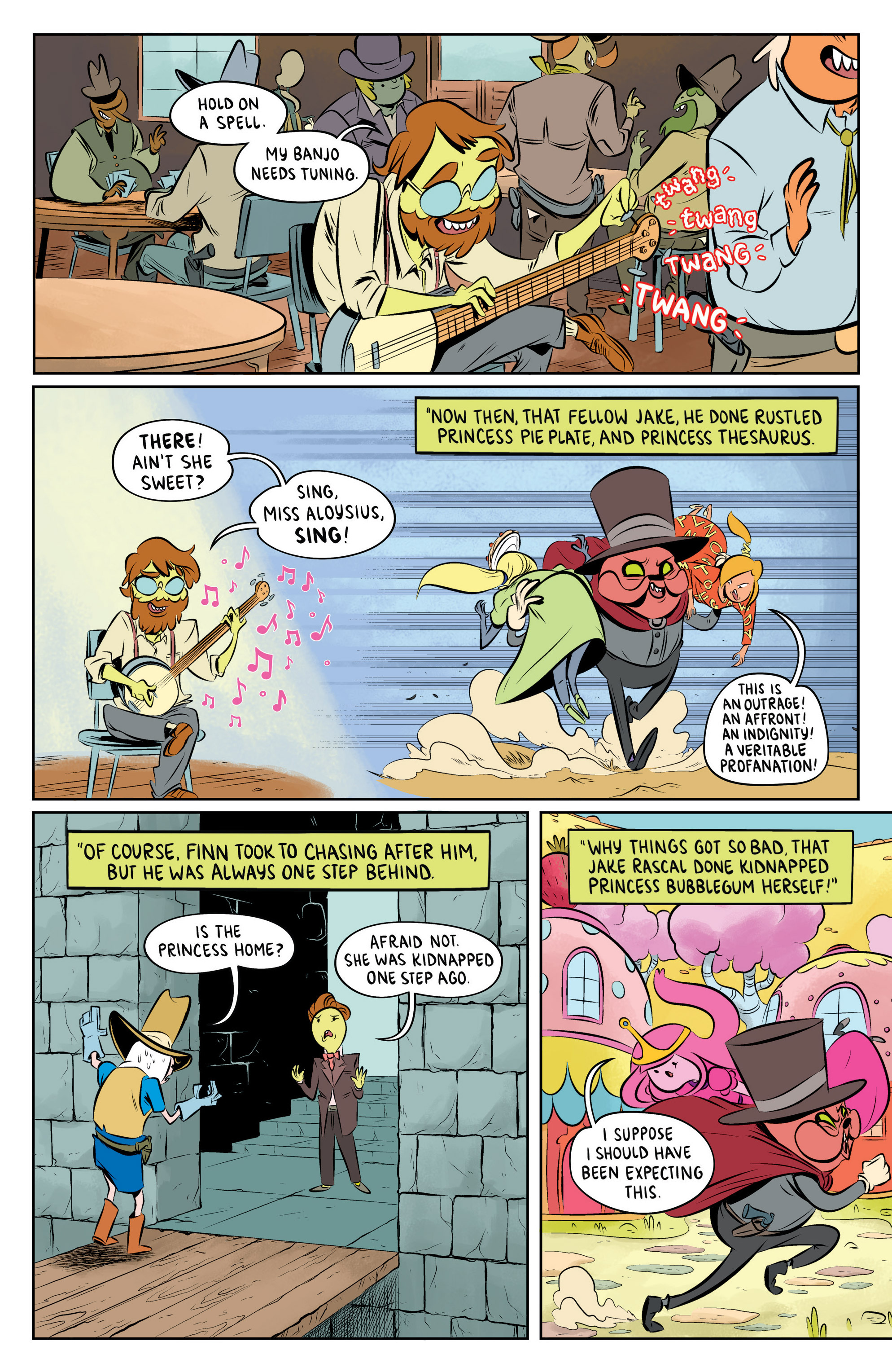 Read online Adventure Time: The Flip Side comic -  Issue #5 - 19