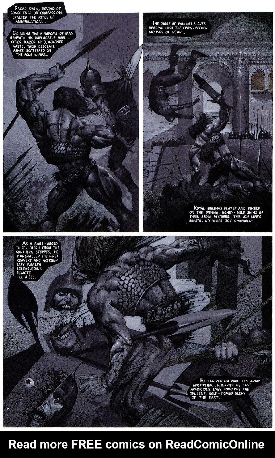 Read online Bisley's Scrapbook comic -  Issue # Full - 22