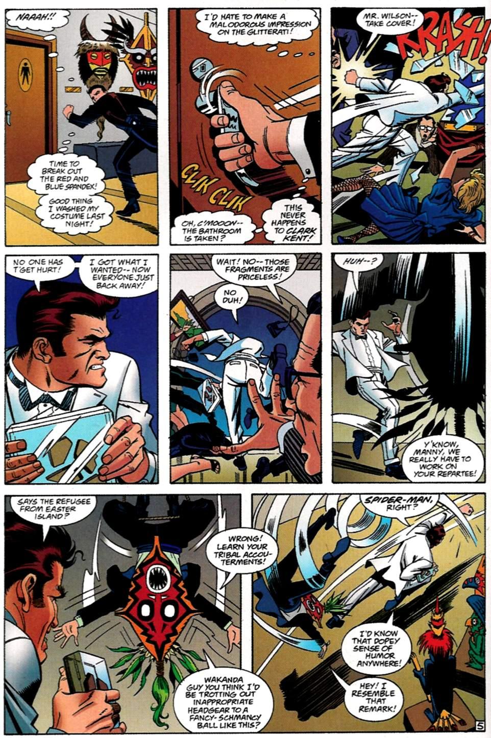 Read online Spider-Man: Lifeline comic -  Issue #1 - 6