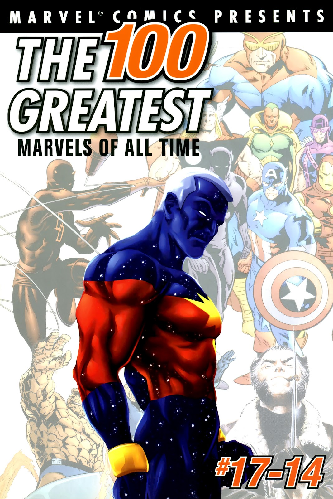 The 100 Greatest Marvels of All Time 3 Page 1