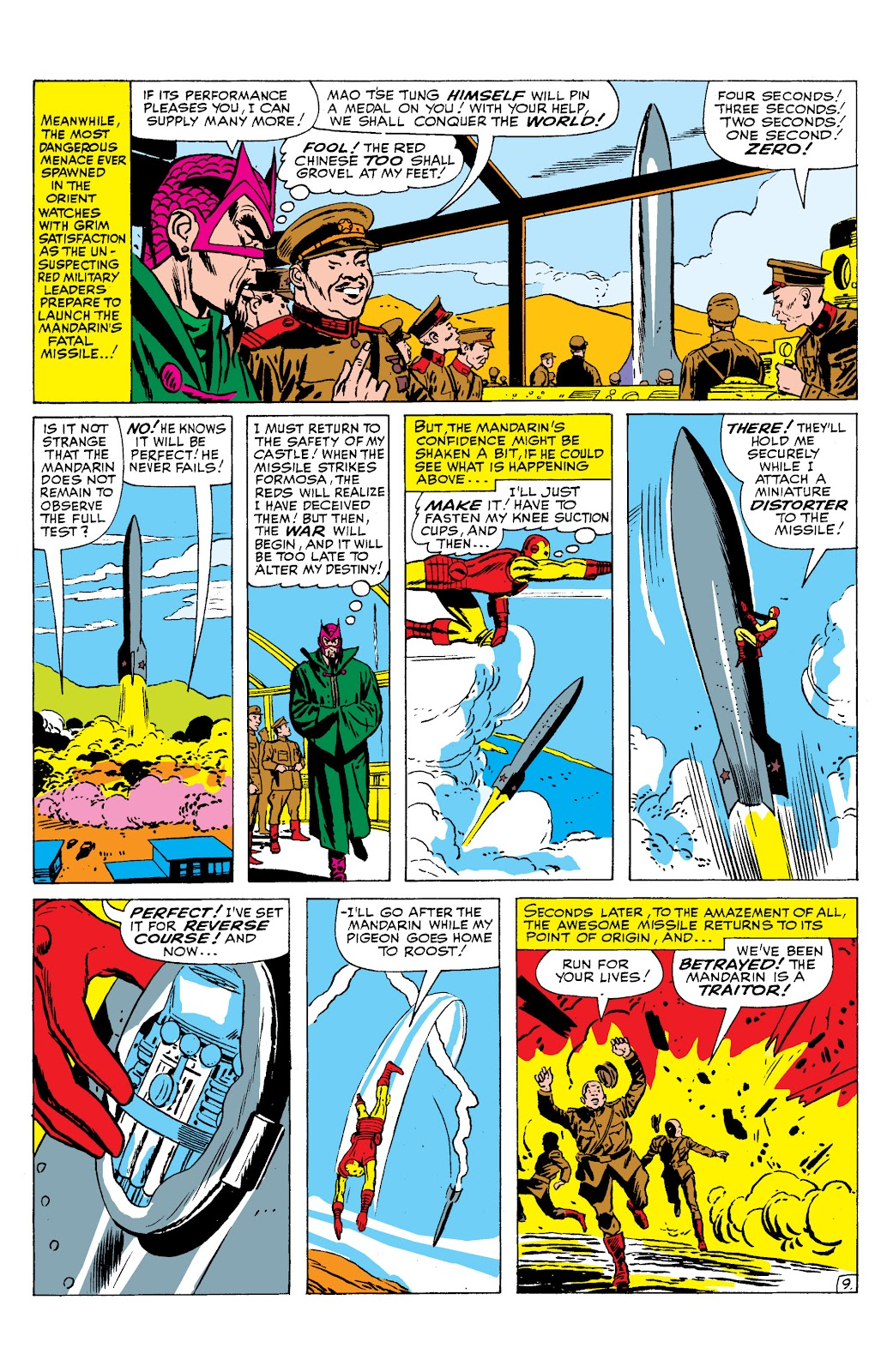 Read online Marvel Masterworks: The Invincible Iron Man comic -  Issue # TPB 2 (Part 2) - 95