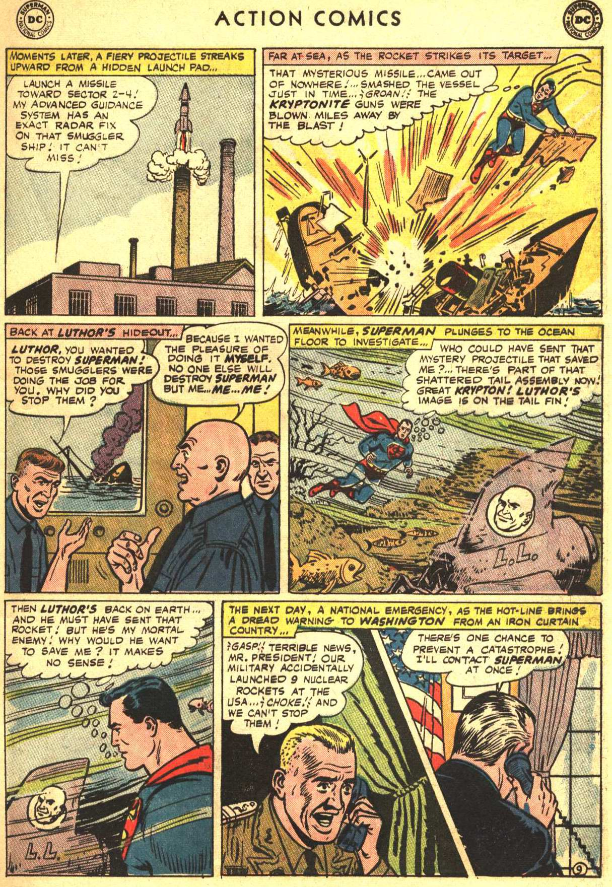 Read online Action Comics (1938) comic -  Issue #332 - 13