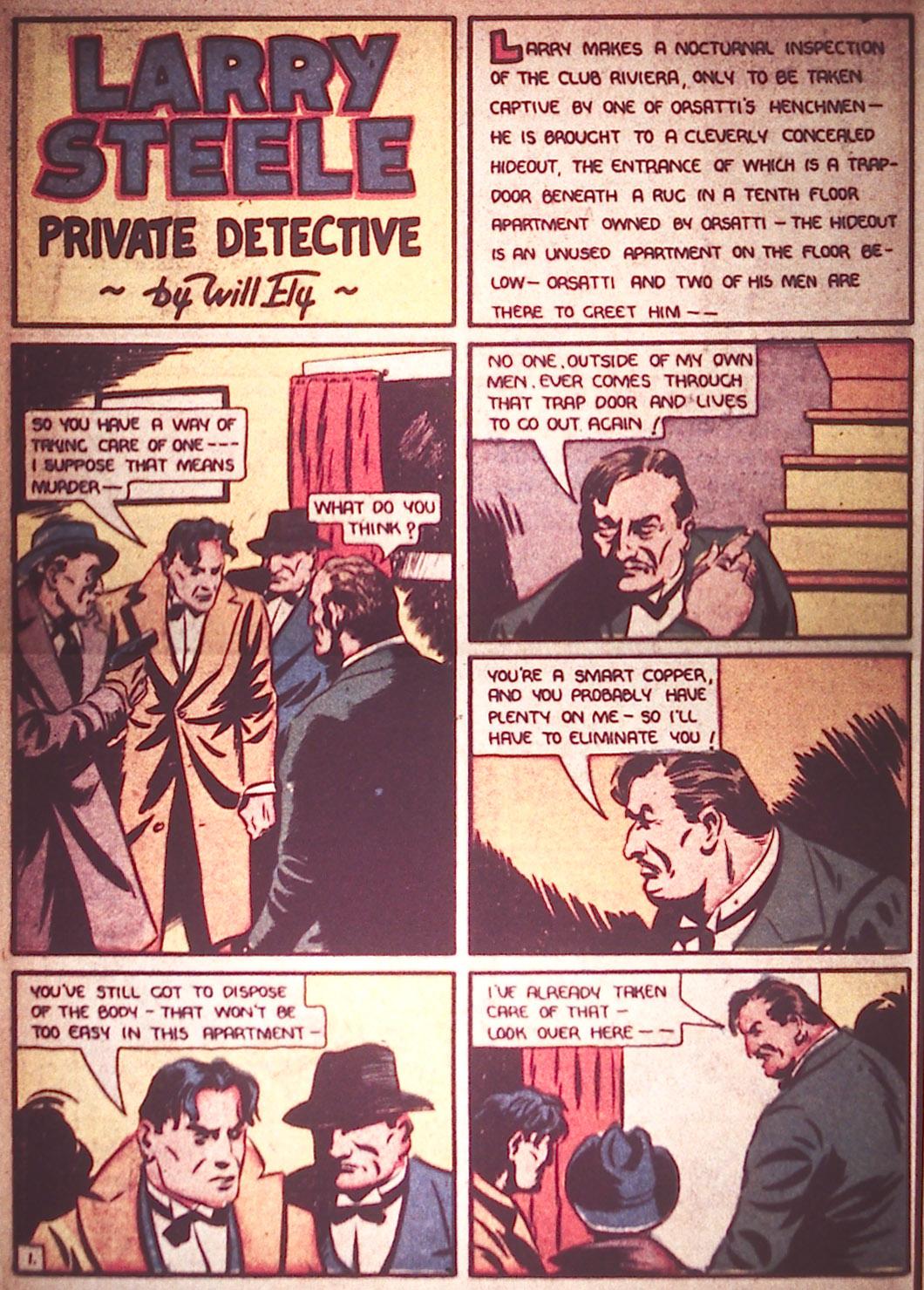 Read online Detective Comics (1937) comic -  Issue #12 - 10