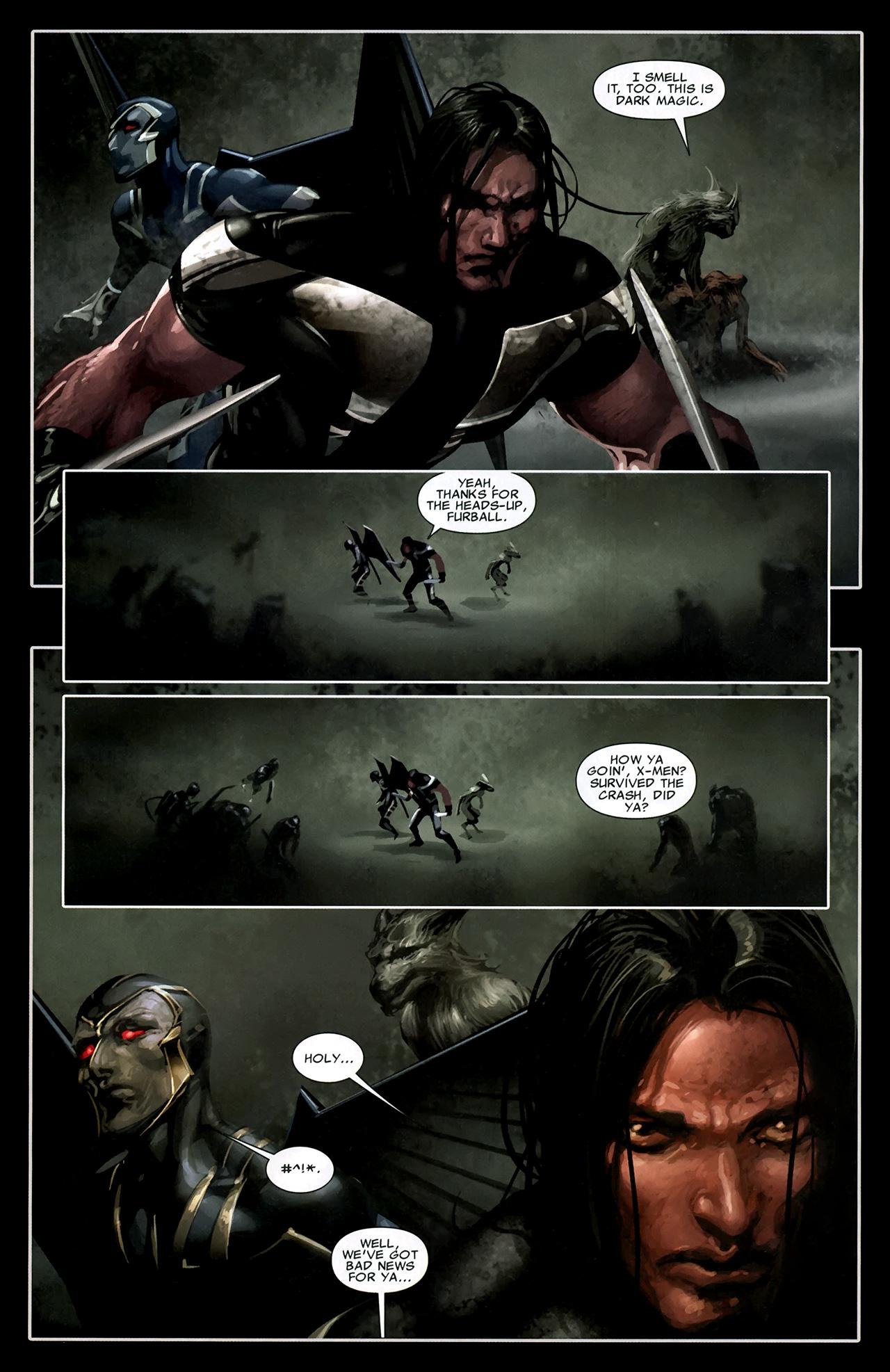 Read online X Necrosha comic -  Issue # Full - 21