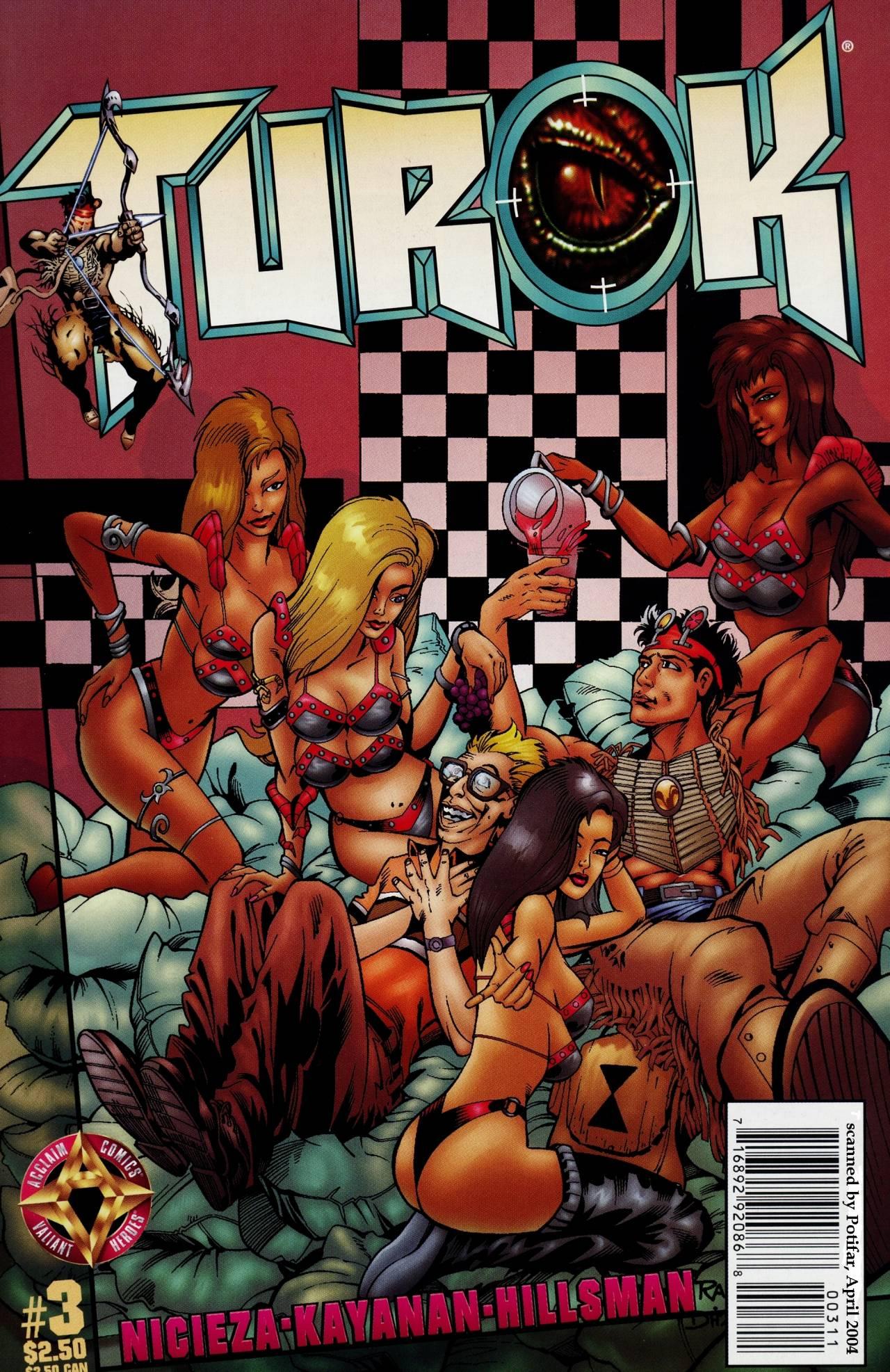 Read online Turok comic -  Issue #3 - 1