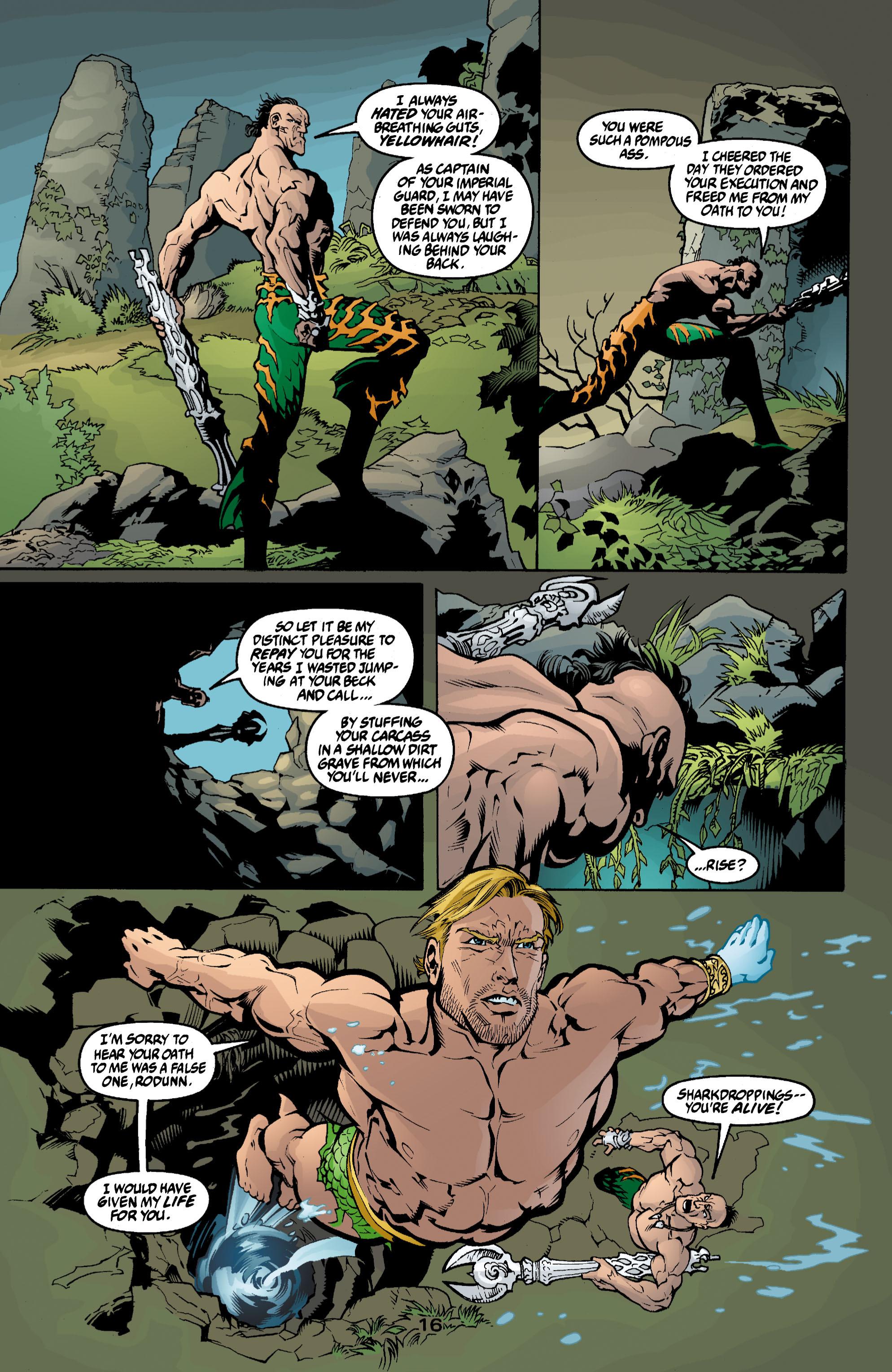 Read online Aquaman (2003) comic -  Issue #3 - 16