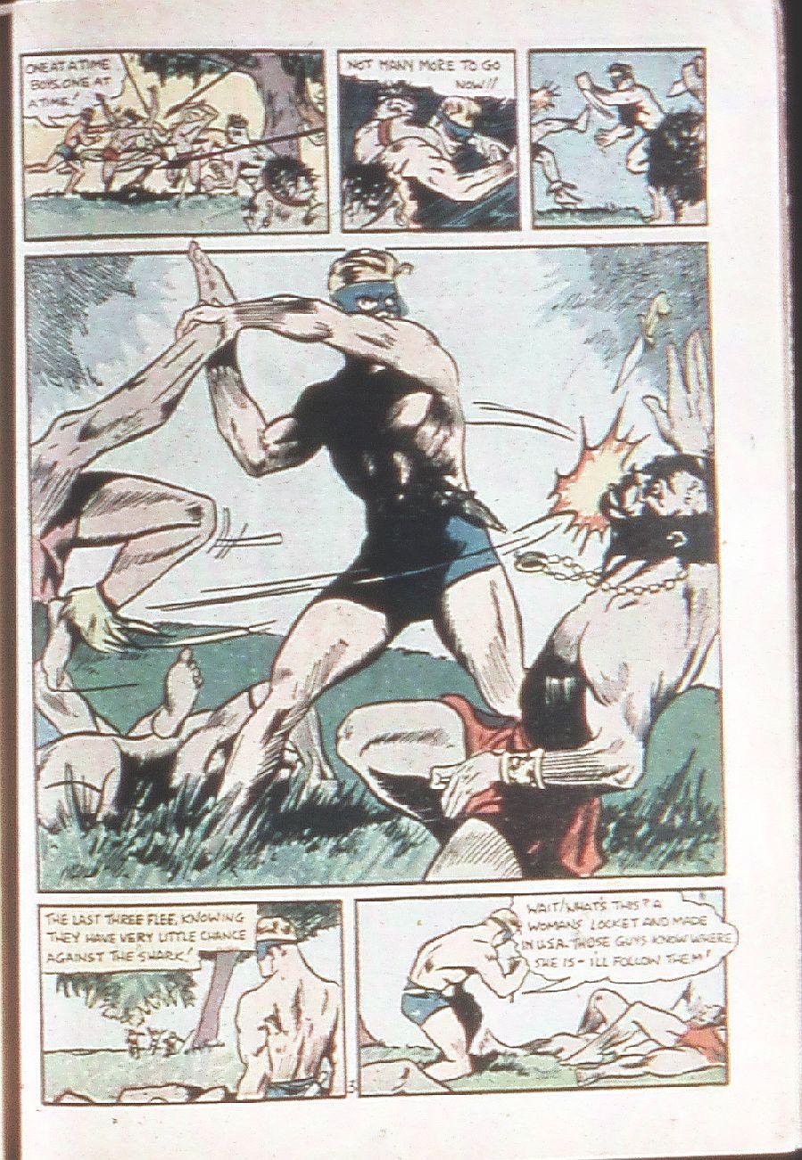 Read online Amazing Man Comics comic -  Issue #18 - 43