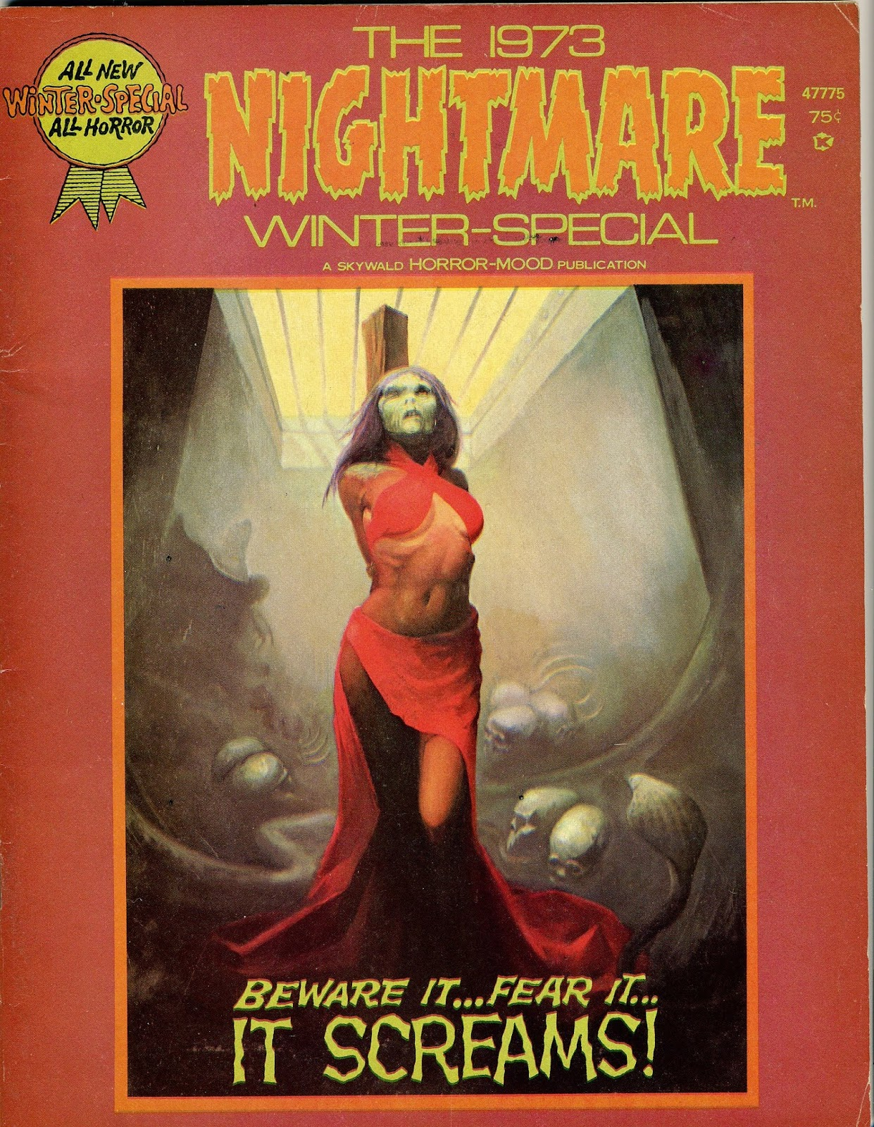 Nightmare (1970) issue 11 - Page 1