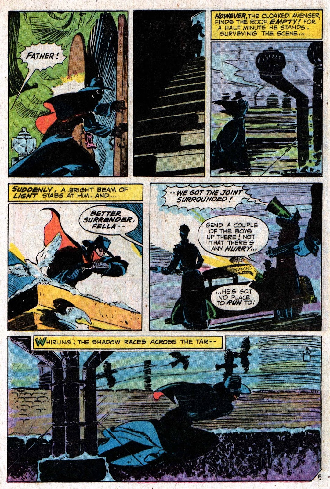 The Shadow (1973) issue 6 - Page 9