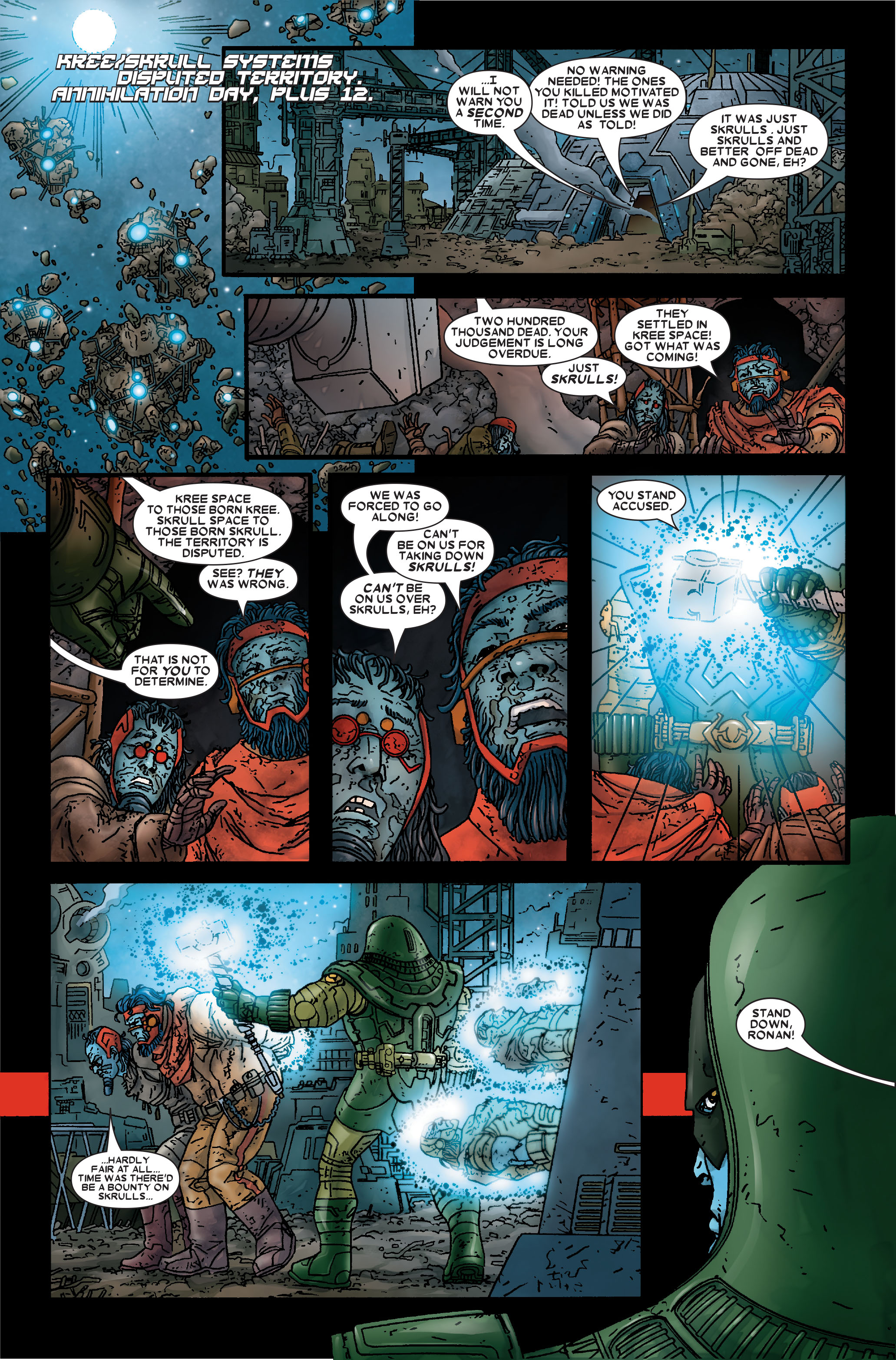 Read online Annihilation: Prologue comic -  Issue #Annihilation: Prologue Full - 35