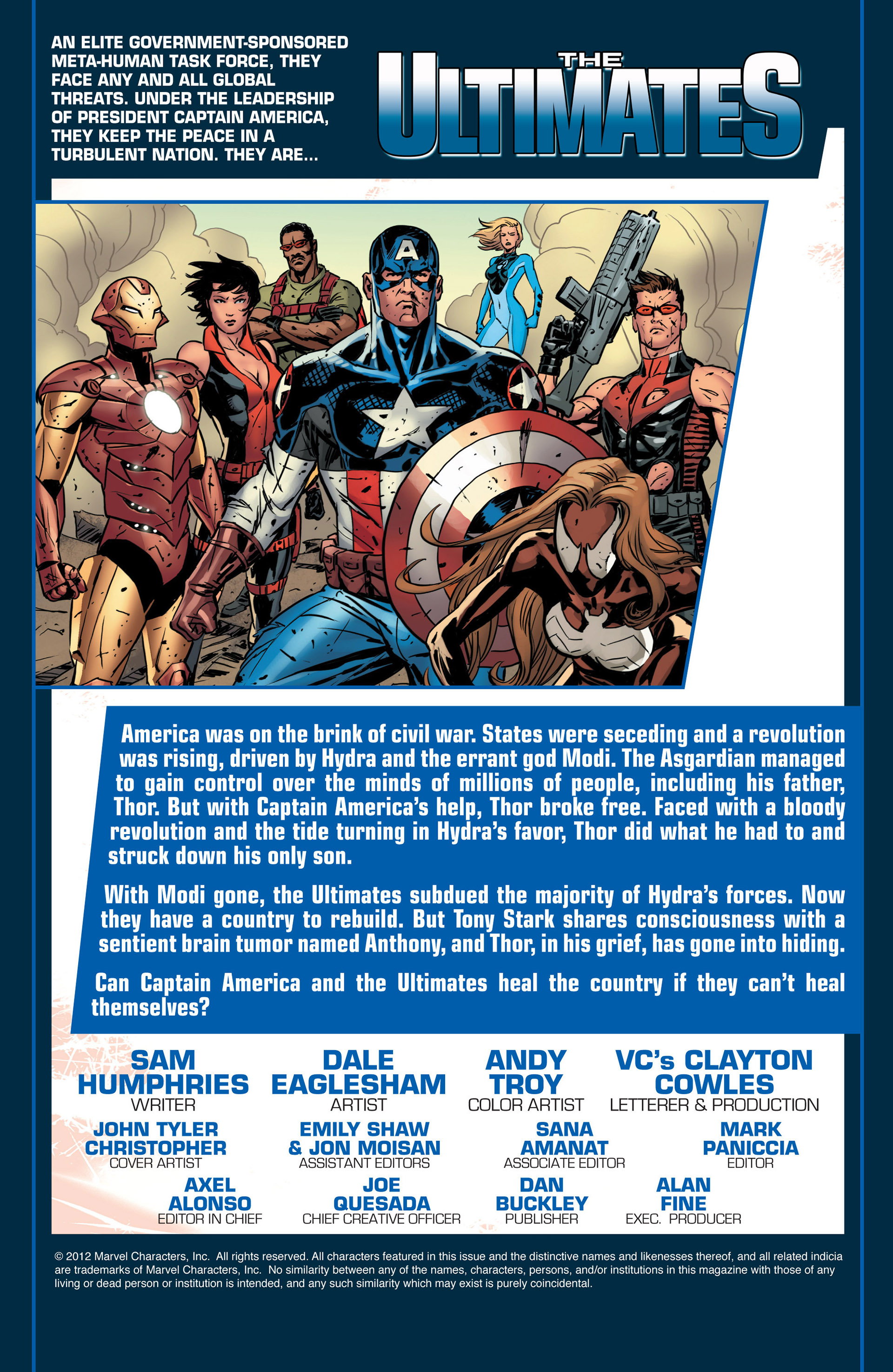 Read online Ultimate Comics Ultimates comic -  Issue #18.1 - 2
