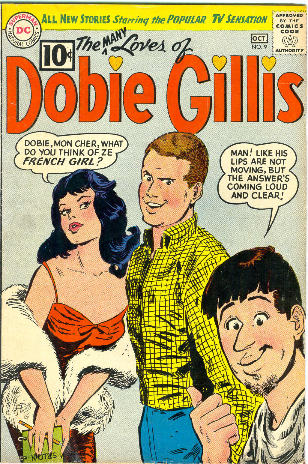 Many Loves of Dobie Gillis issue 9 - Page 1