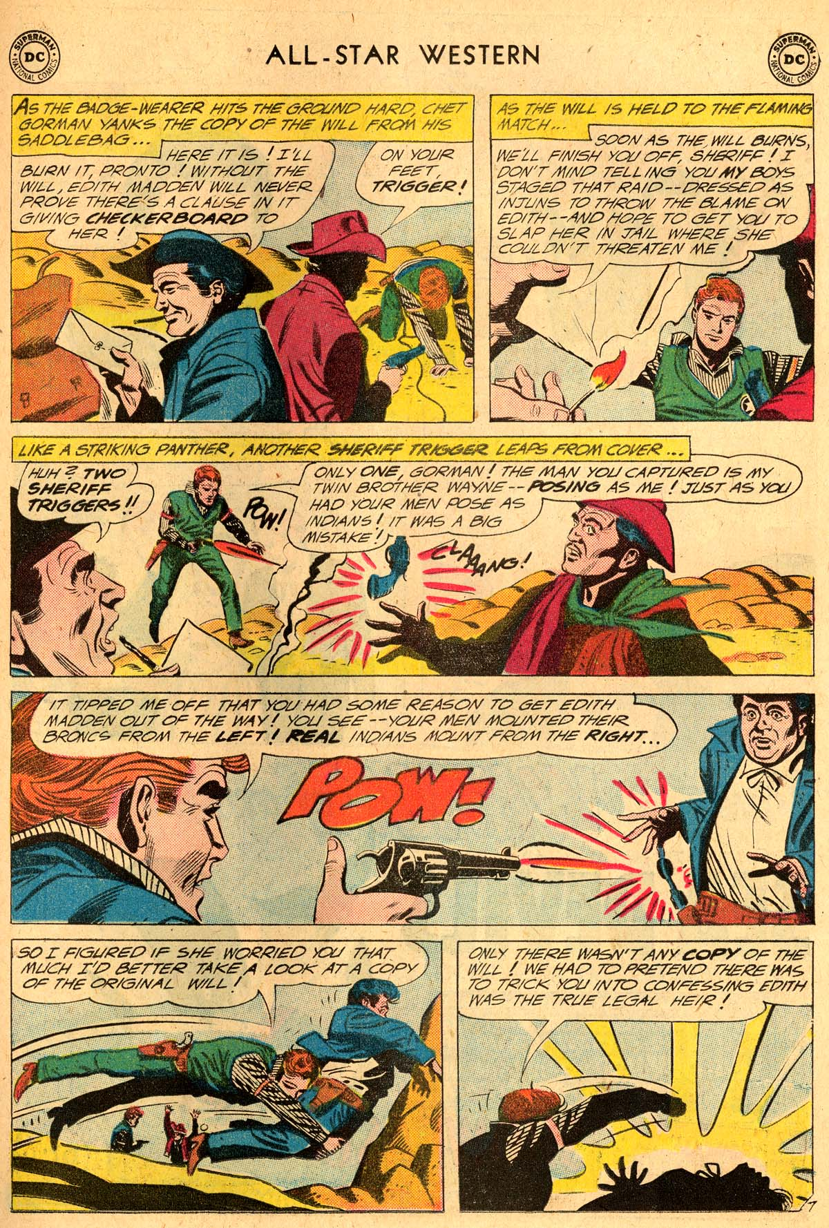 Read online All-Star Western (1951) comic -  Issue #115 - 31
