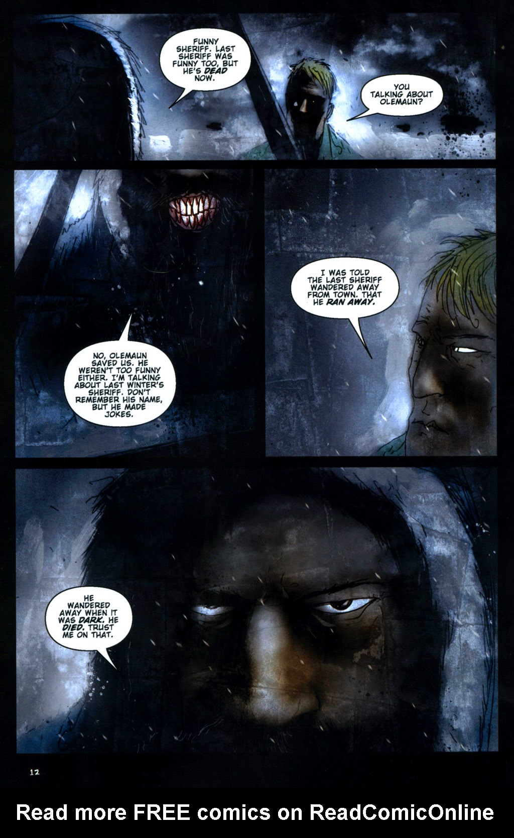 Read online 30 Days of Night: Return to Barrow comic -  Issue #1 - 14