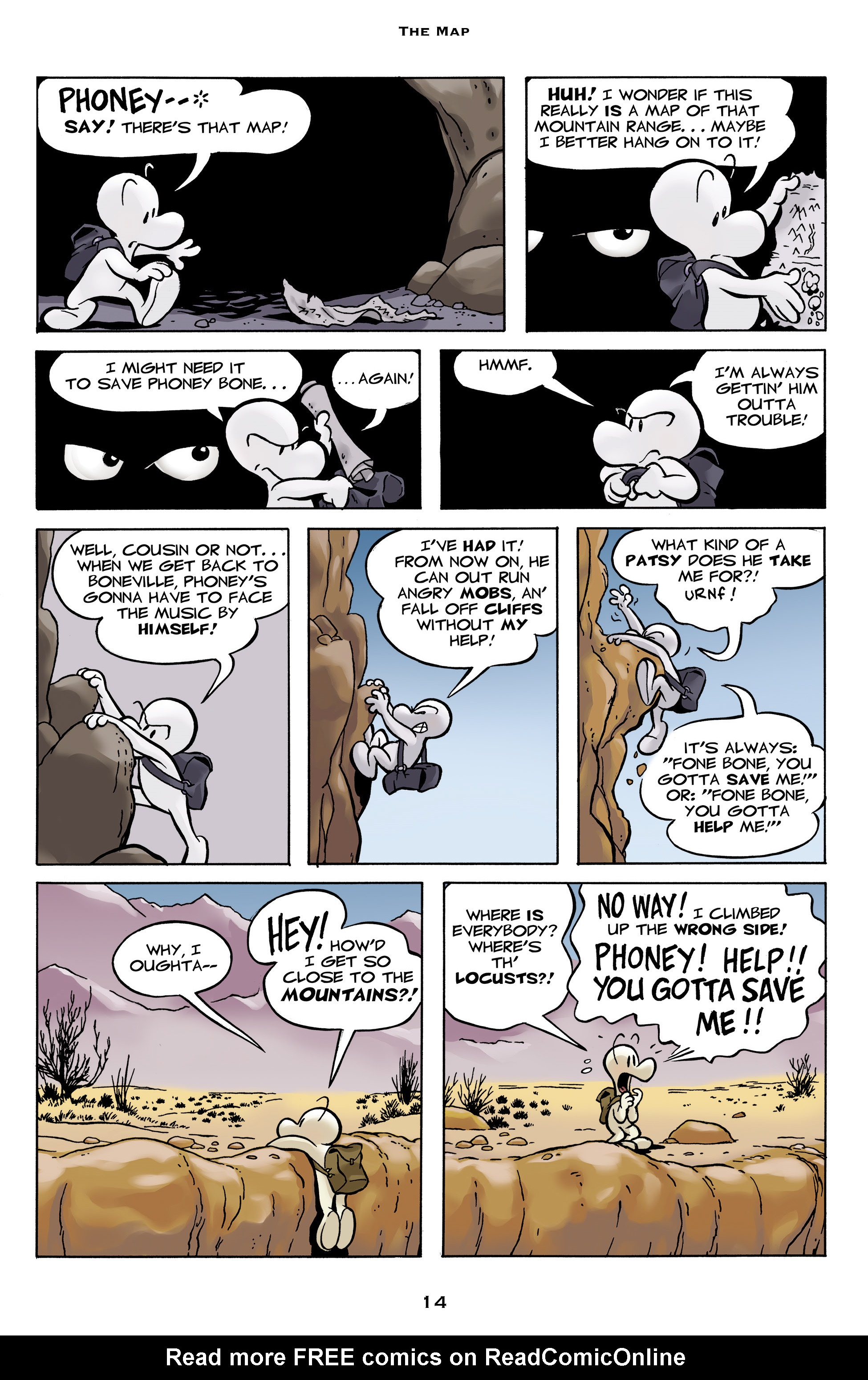 Read online Bone: Out From Boneville comic -  Issue # TPB - 14