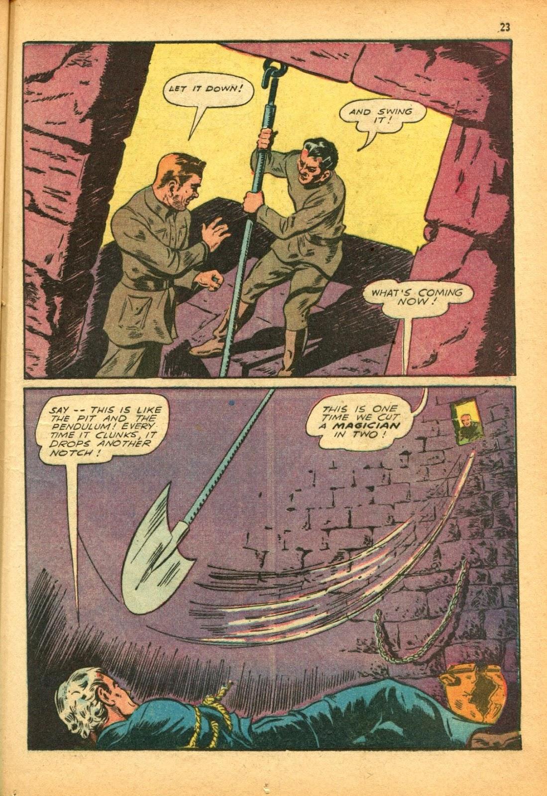 Read online Super-Magician Comics comic -  Issue #12 - 23