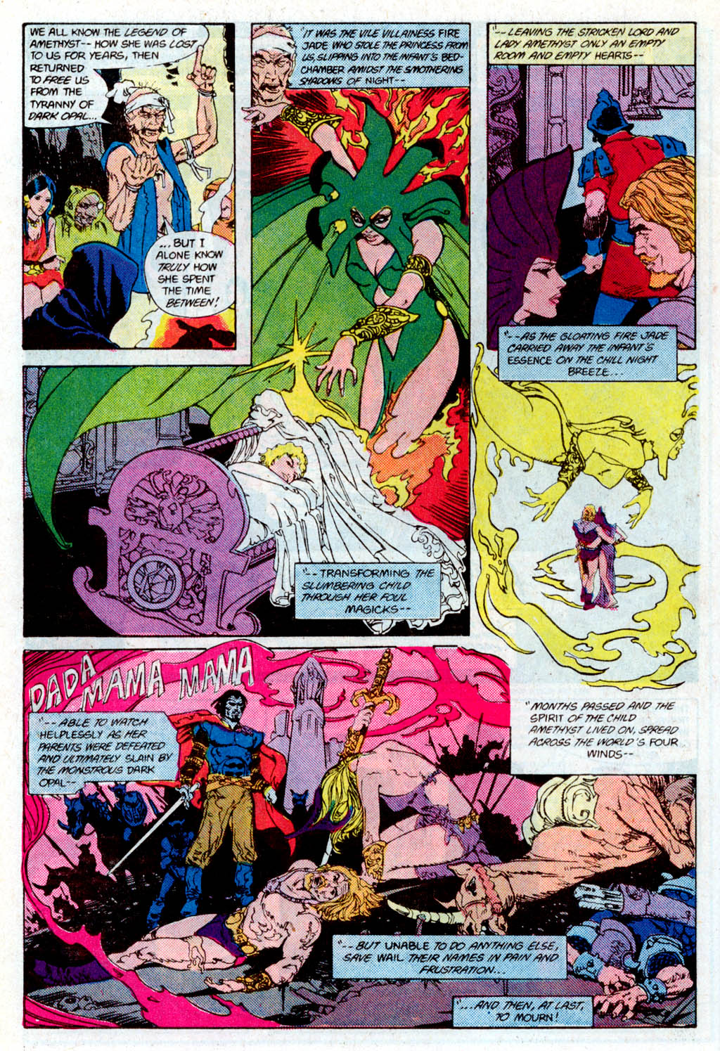 Read online Amethyst (1985) comic -  Issue # _Special 1 - 34
