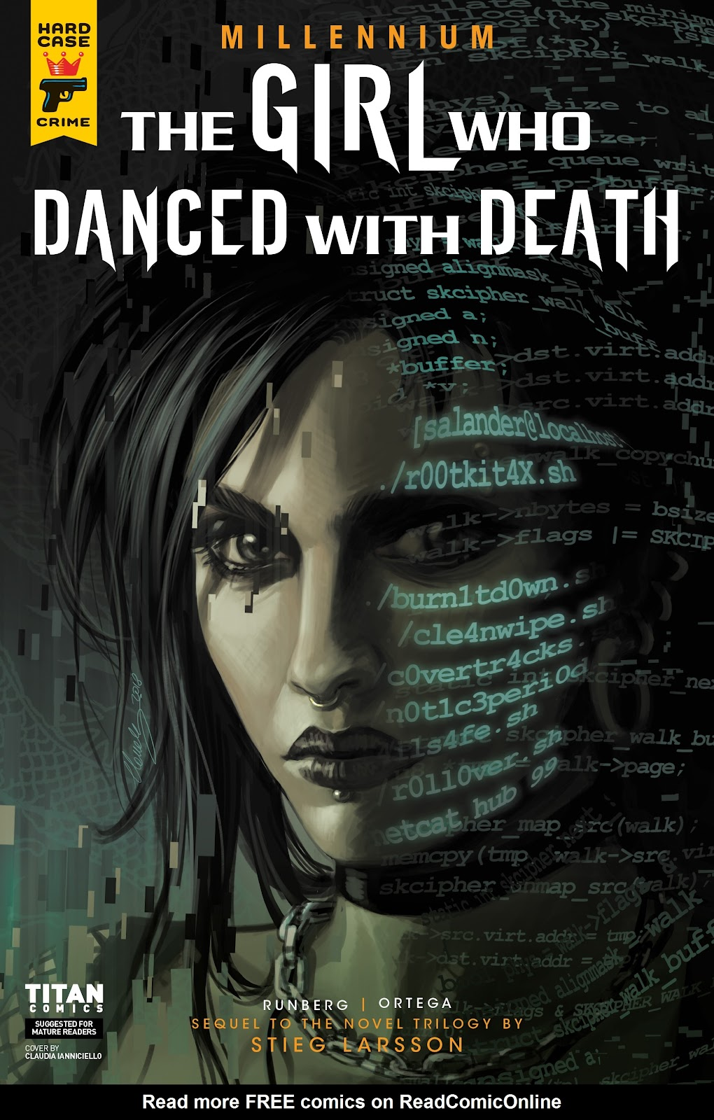 Read online Millennium: The Girl Who Danced With Death comic -  Issue #3 - 1
