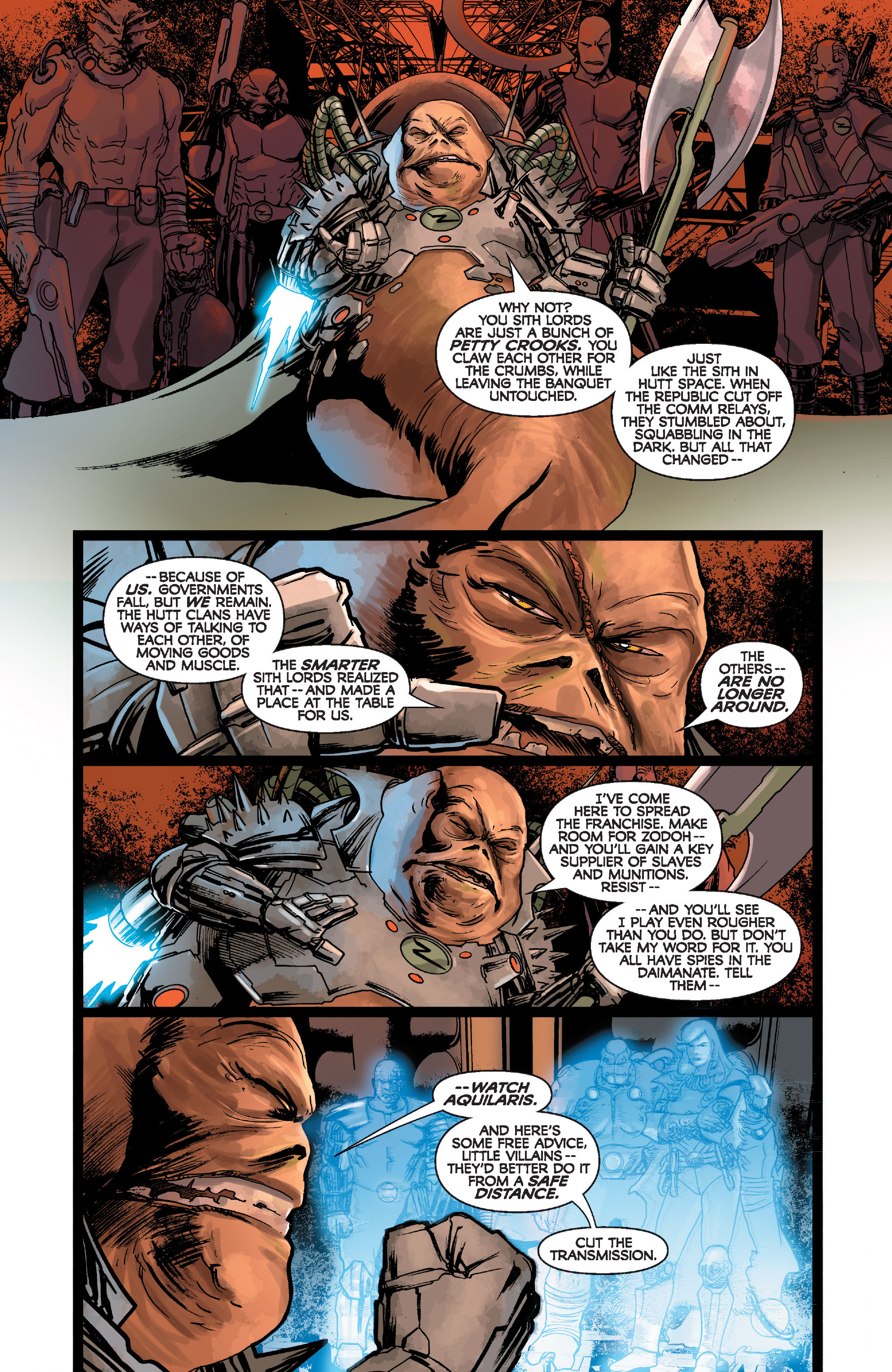 Read online Star Wars: Knight Errant - Deluge comic -  Issue #1 - 23