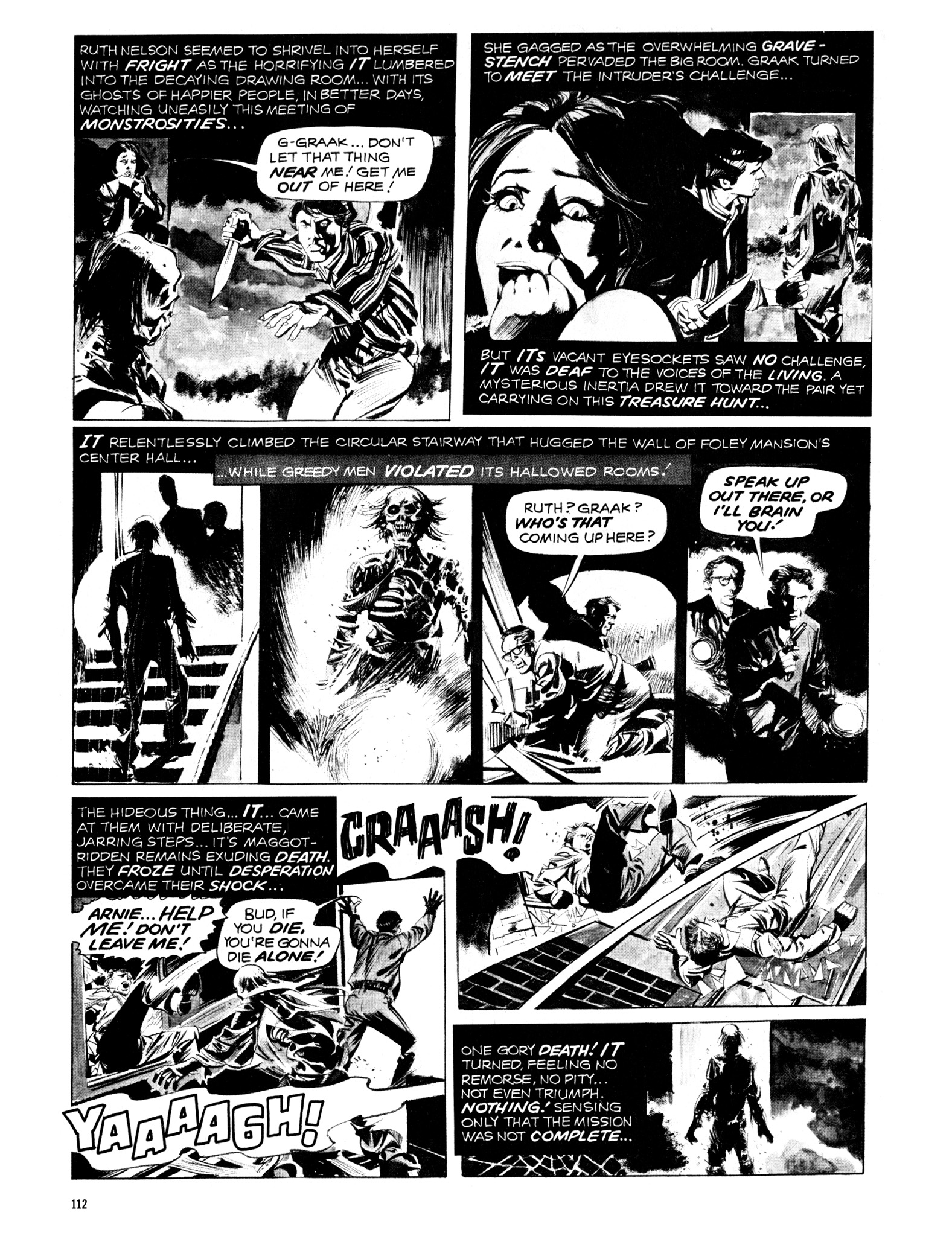 Read online Eerie Archives comic -  Issue # TPB 12 - 113