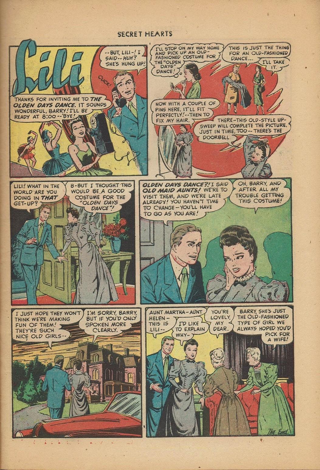 Read online Secret Hearts comic -  Issue #2 - 23