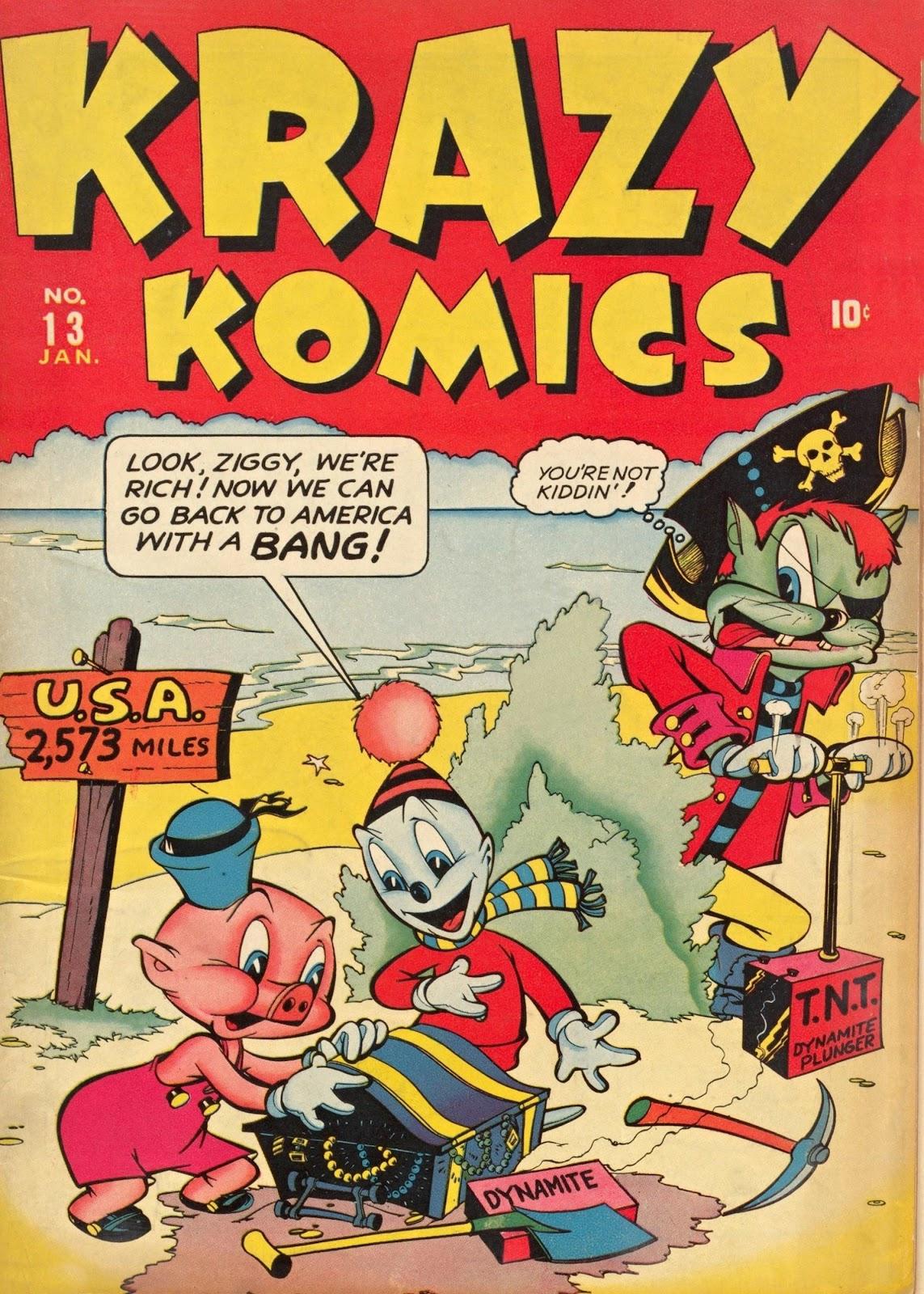 Krazy Komics (1942) issue 13 - Page 1