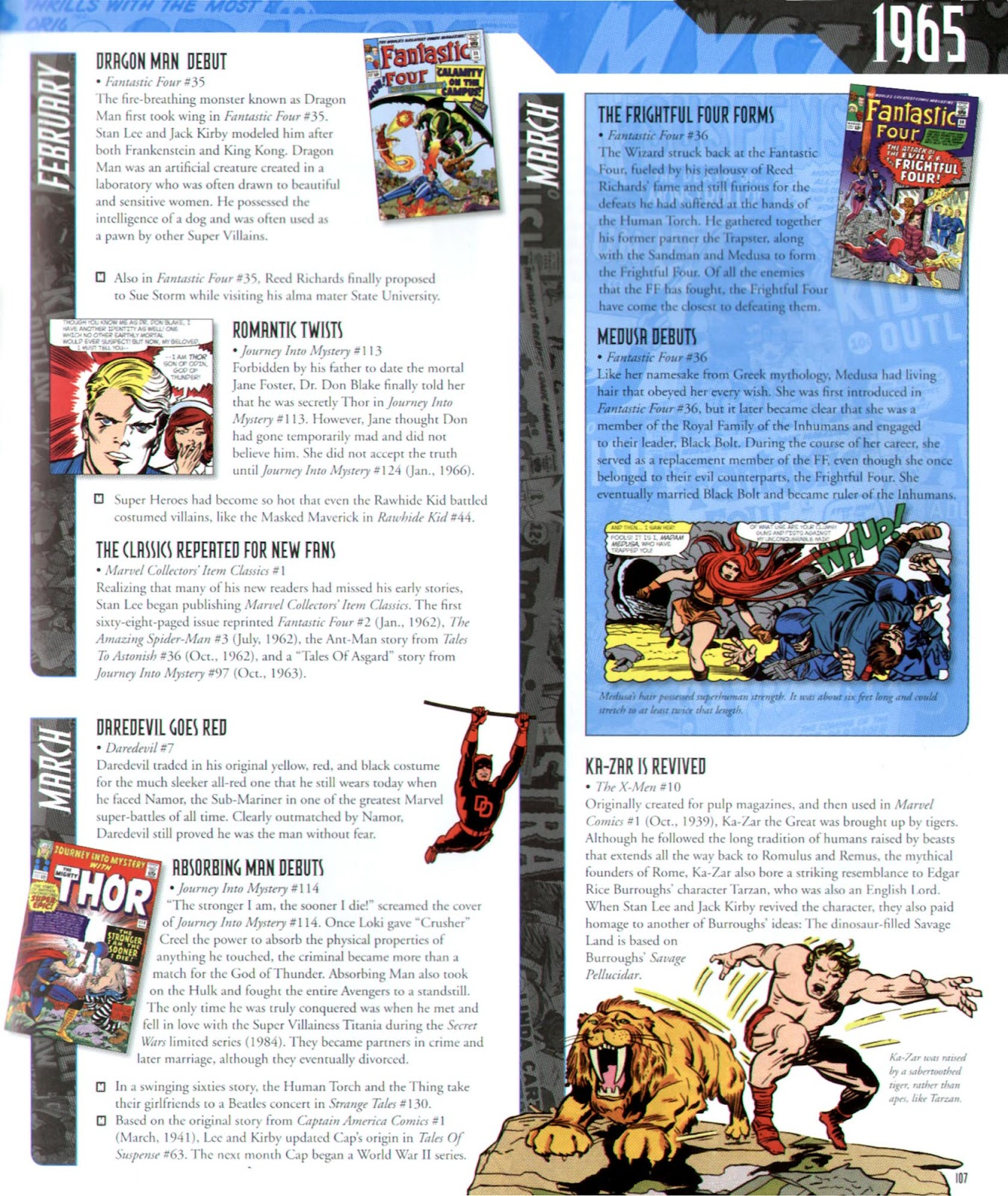 Read online Marvel Chronicle comic -  Issue # TPB (Part 2) - 7