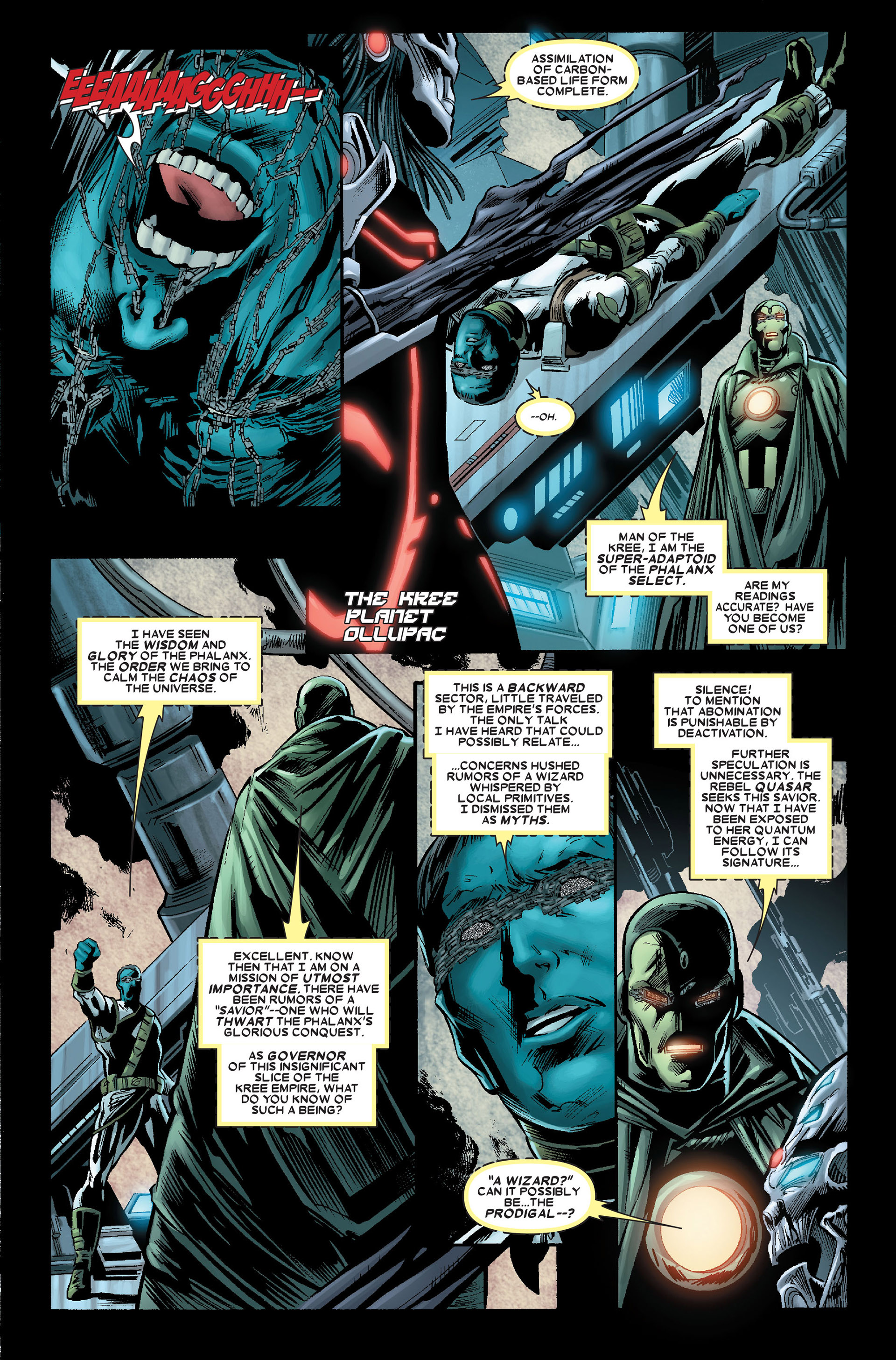 Read online Annihilation: Conquest - Quasar comic -  Issue #2 - 12