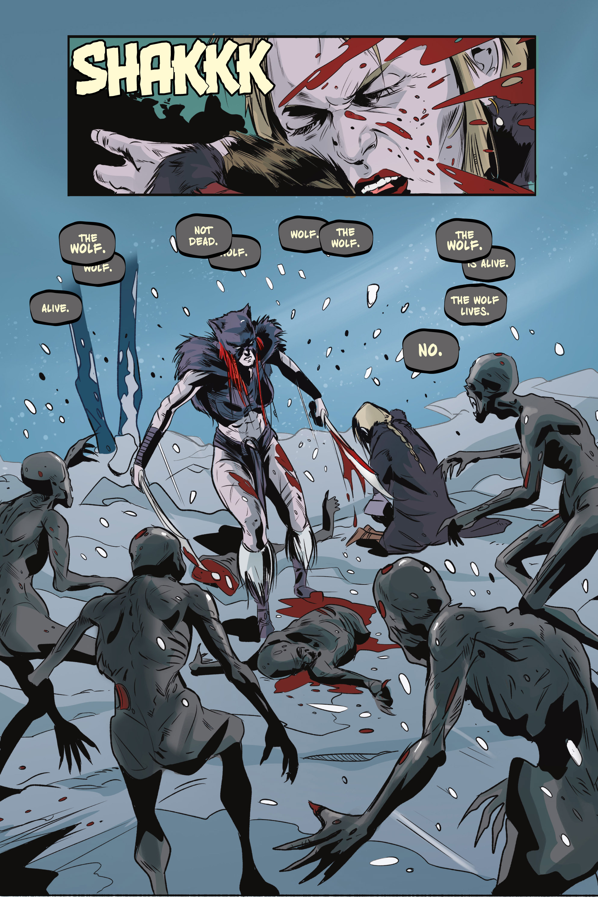 Read online Ghost Wolf comic -  Issue #4 - 9