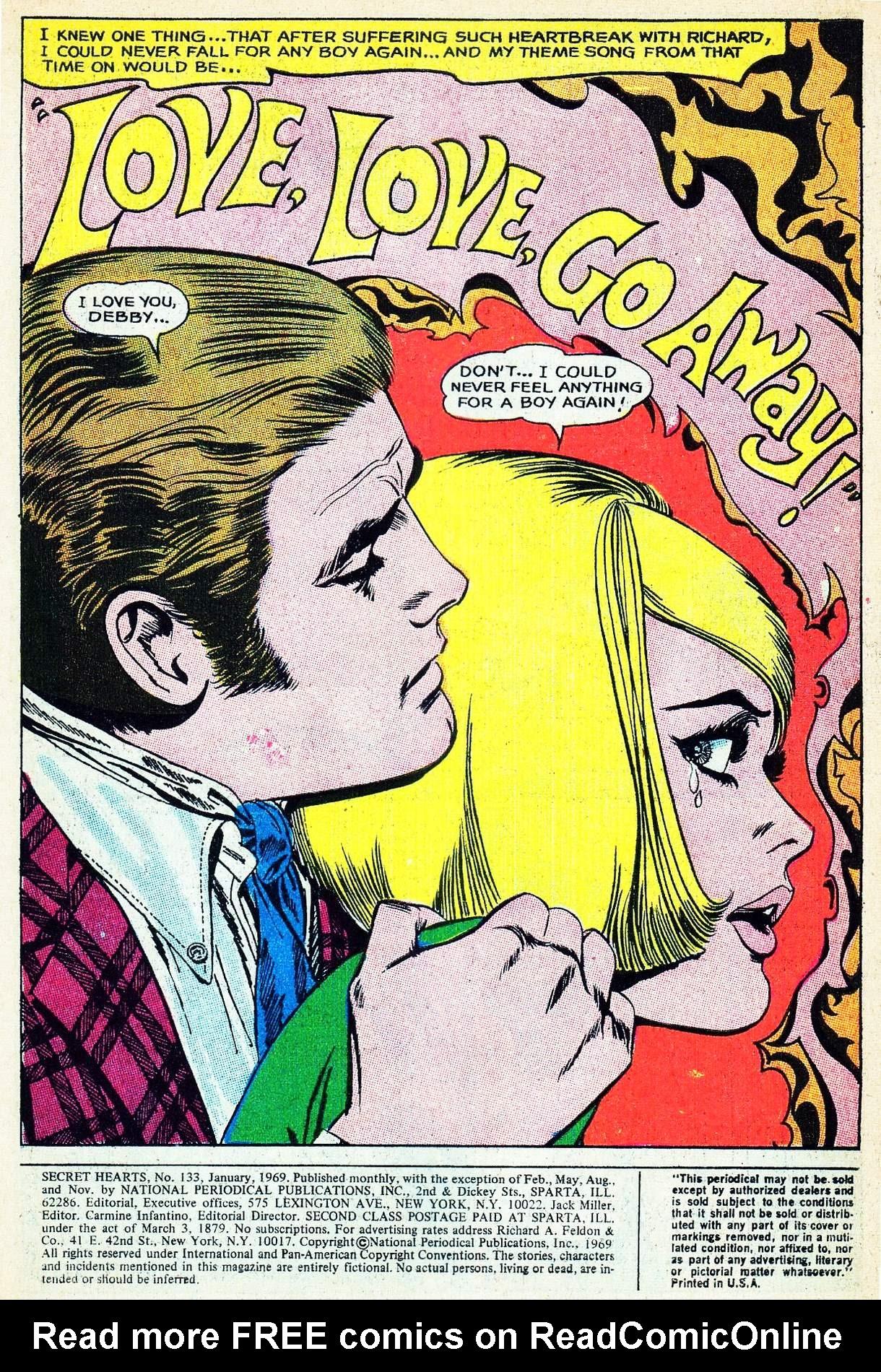 Read online Secret Hearts comic -  Issue #133 - 3