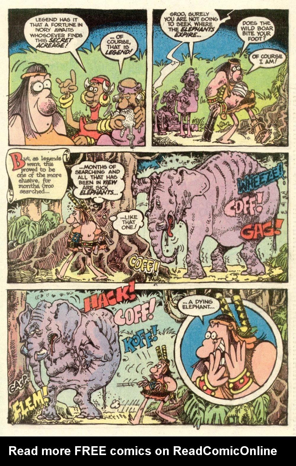 Read online Sergio Aragonés Groo the Wanderer comic -  Issue #7 - 15