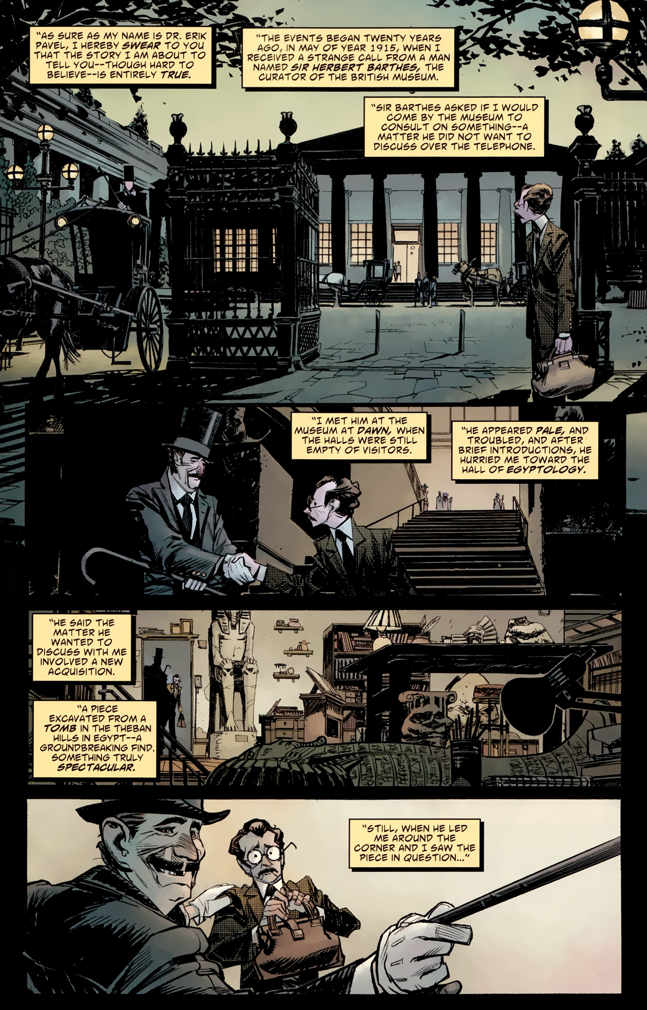 Read online American Vampire: Survival of the Fittest comic -  Issue #4 - 2