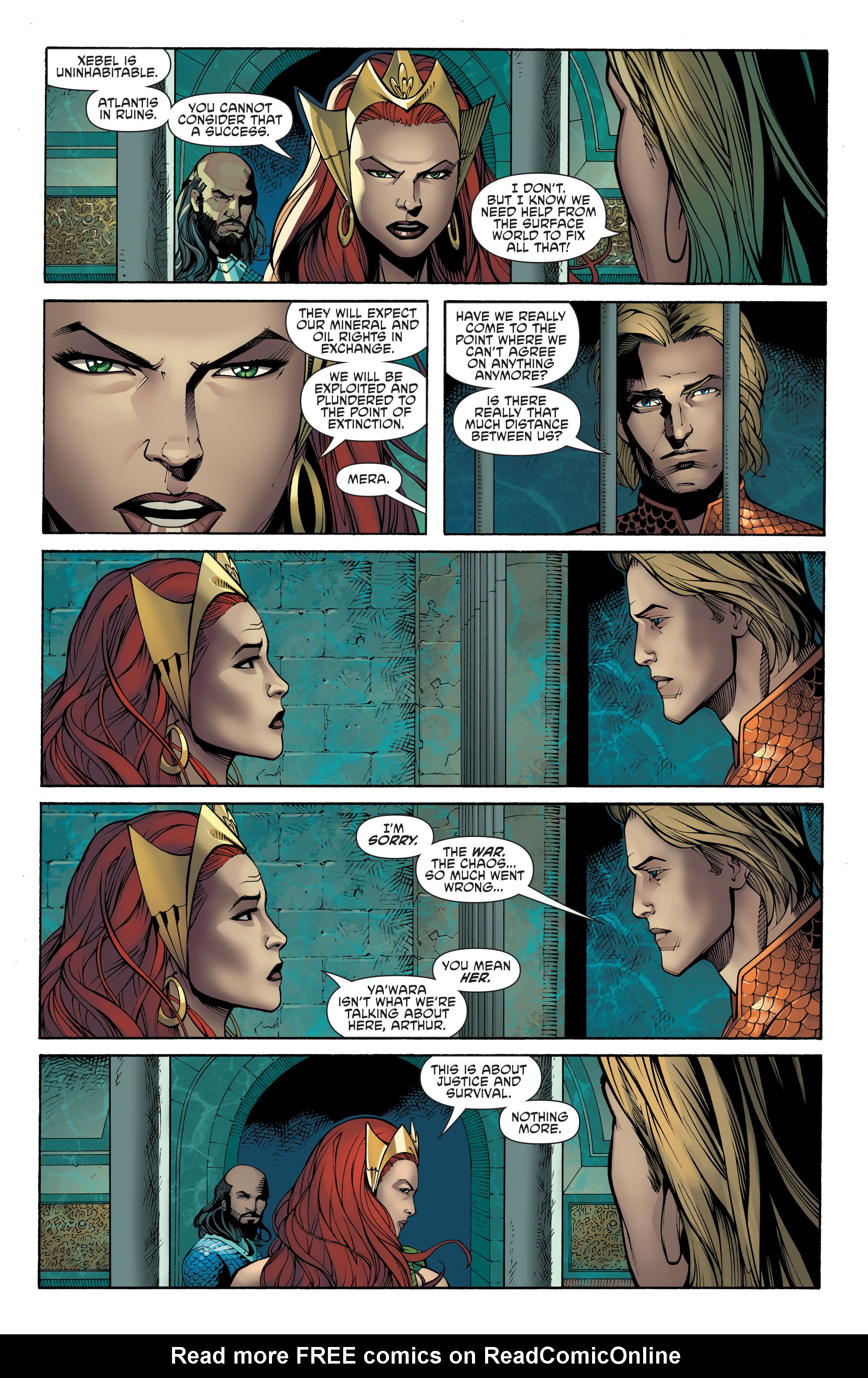 Read online Aquaman and the Others: Futures End comic -  Issue #Aquaman and the Others: Futures End Full - 8