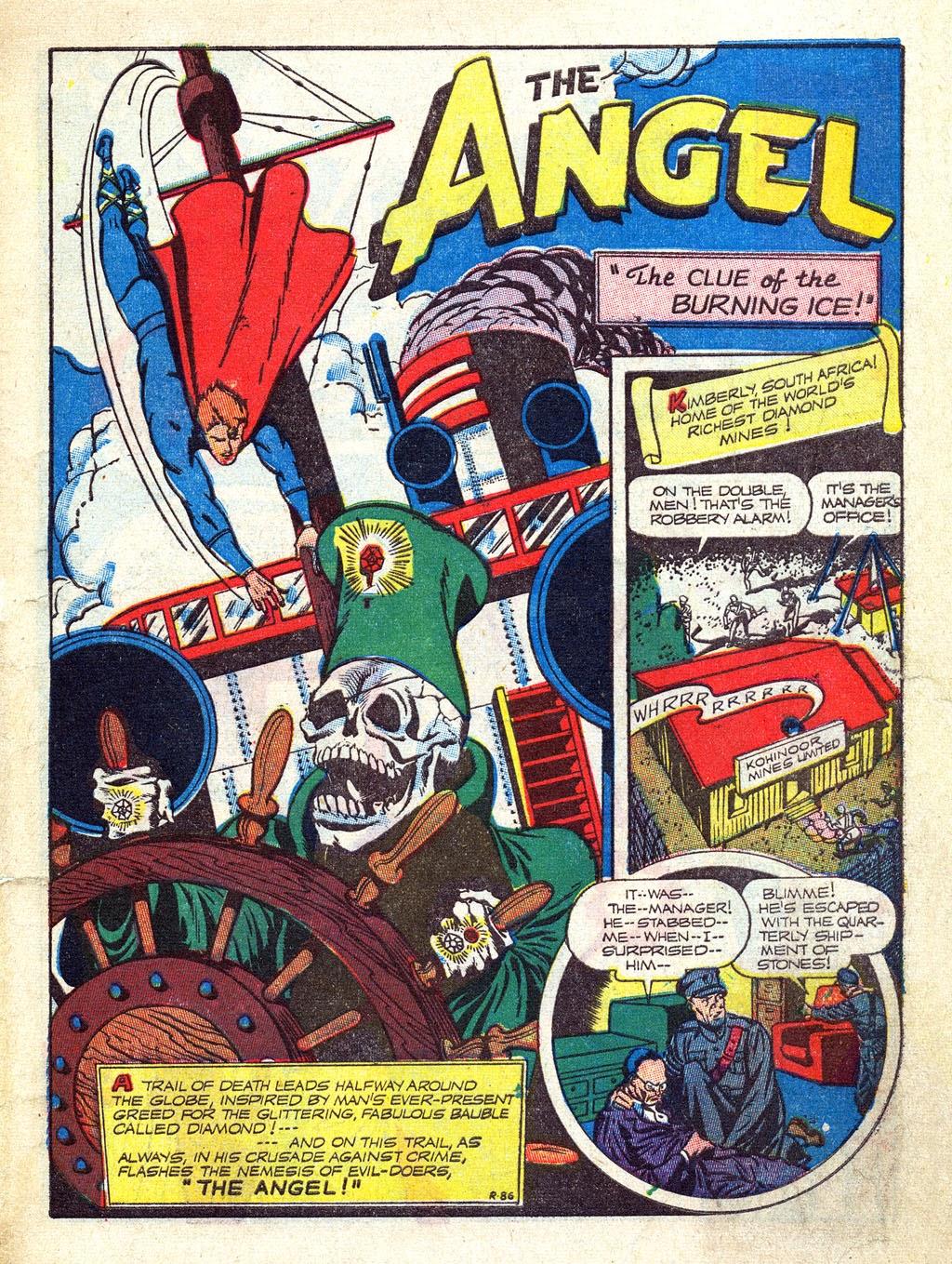 Read online Mystic Comics (1944) comic -  Issue #3 - 3