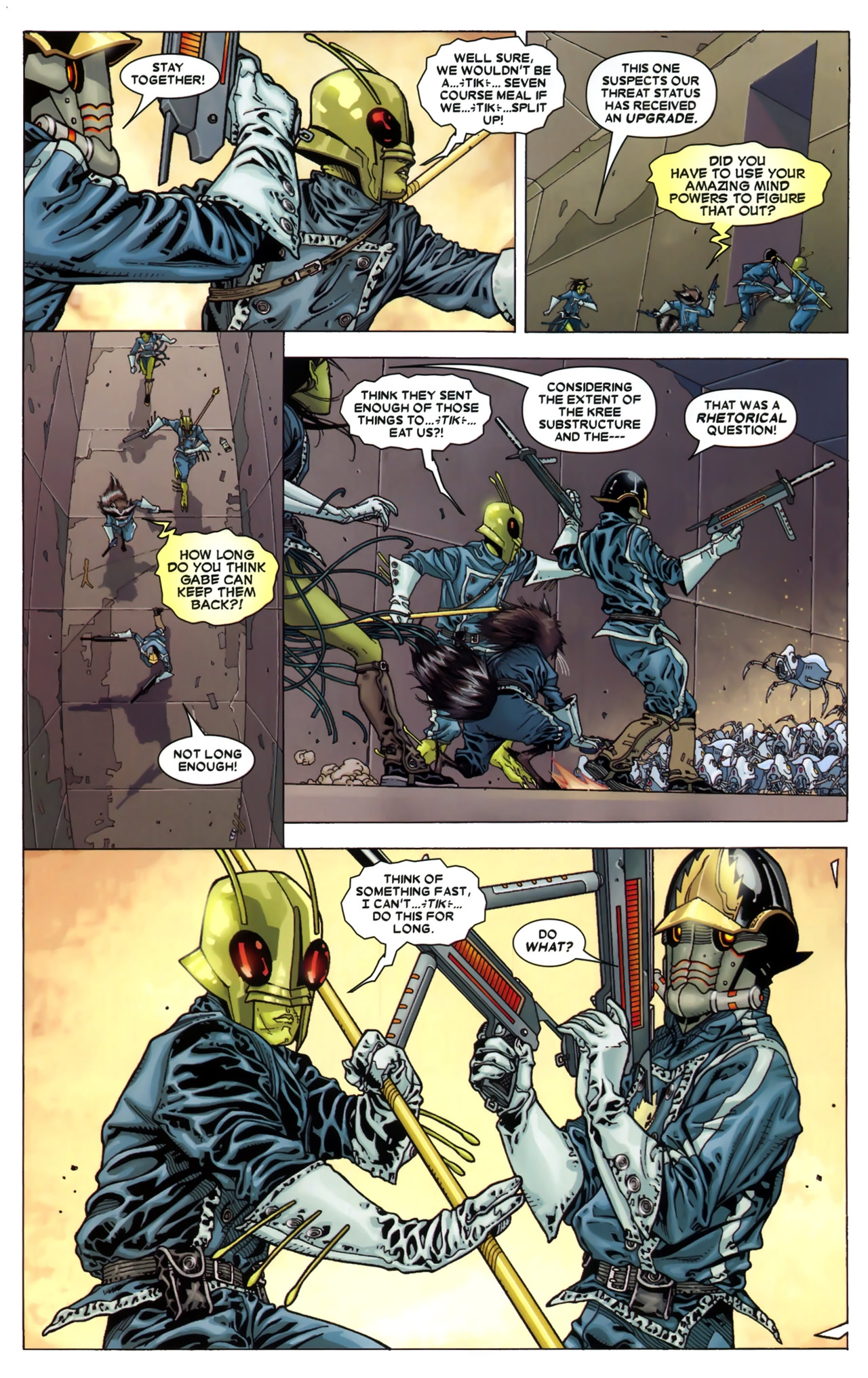 Read online Annihilation: Conquest - Starlord comic -  Issue #3 - 13