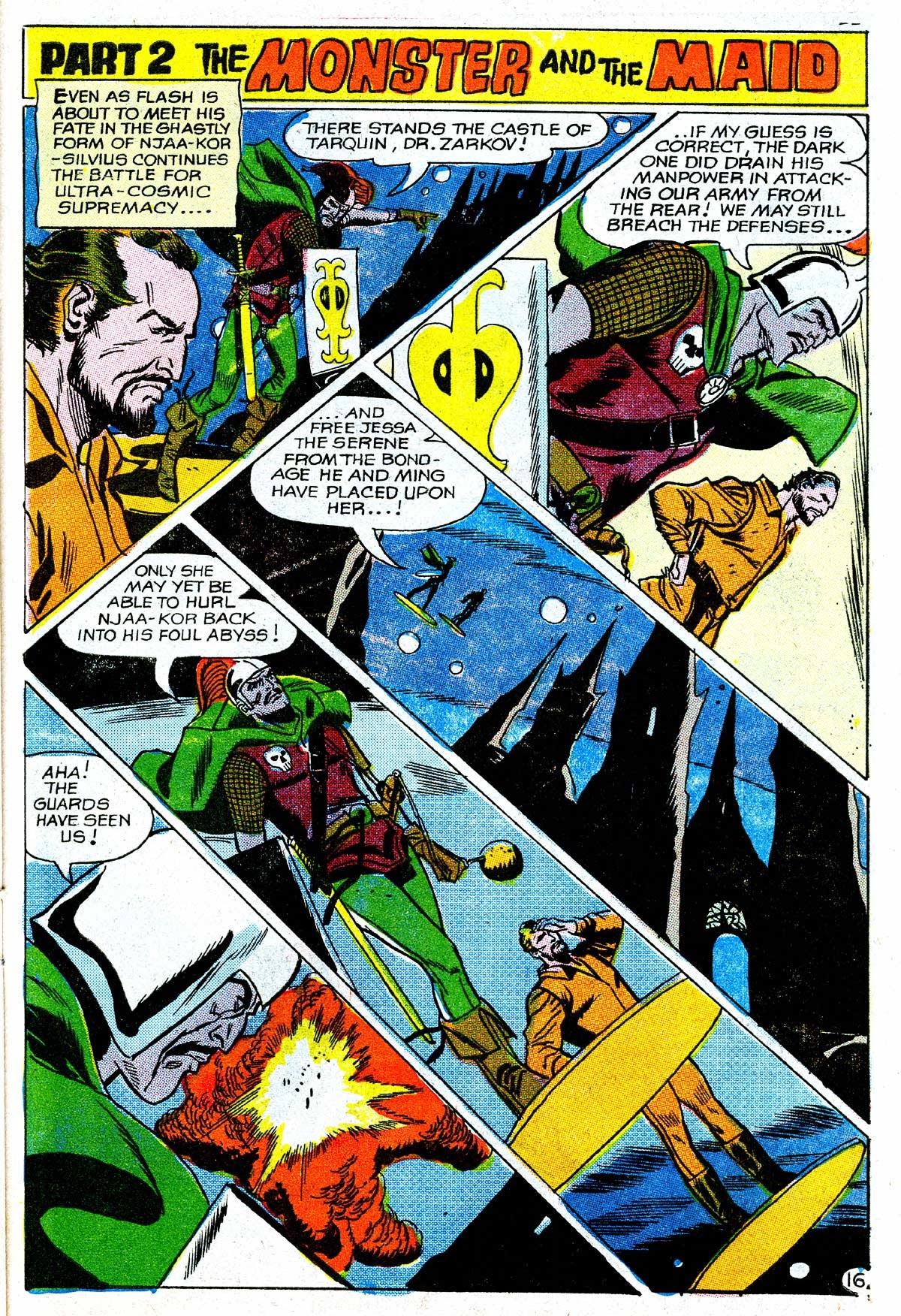Flash Gordon (1969) issue 16 - Page 17