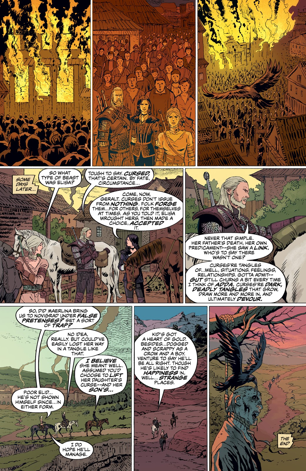 Read online The Witcher Omnibus comic -  Issue # TPB (Part 5) - 17