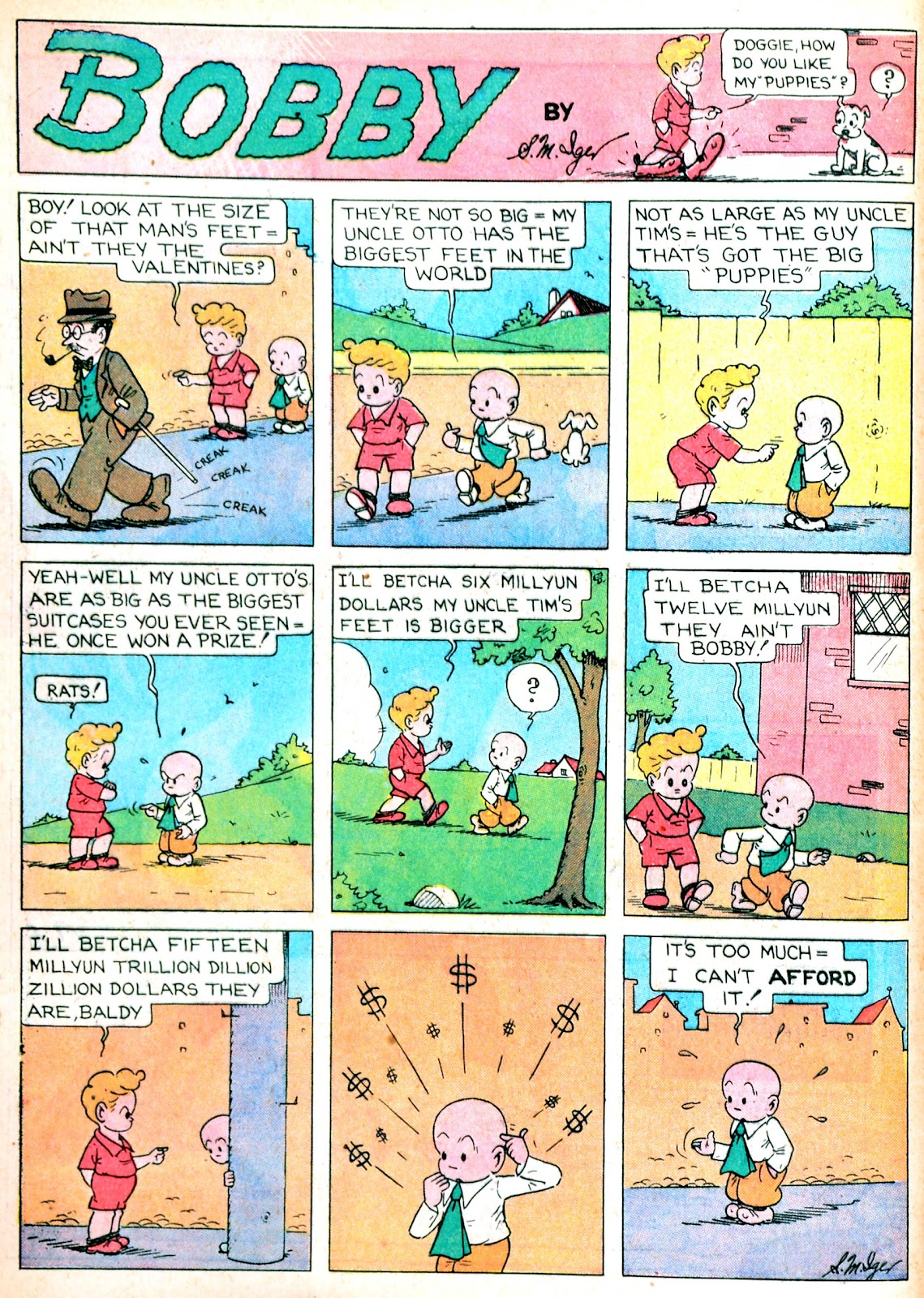 Read online Famous Funnies comic -  Issue #13 - 12